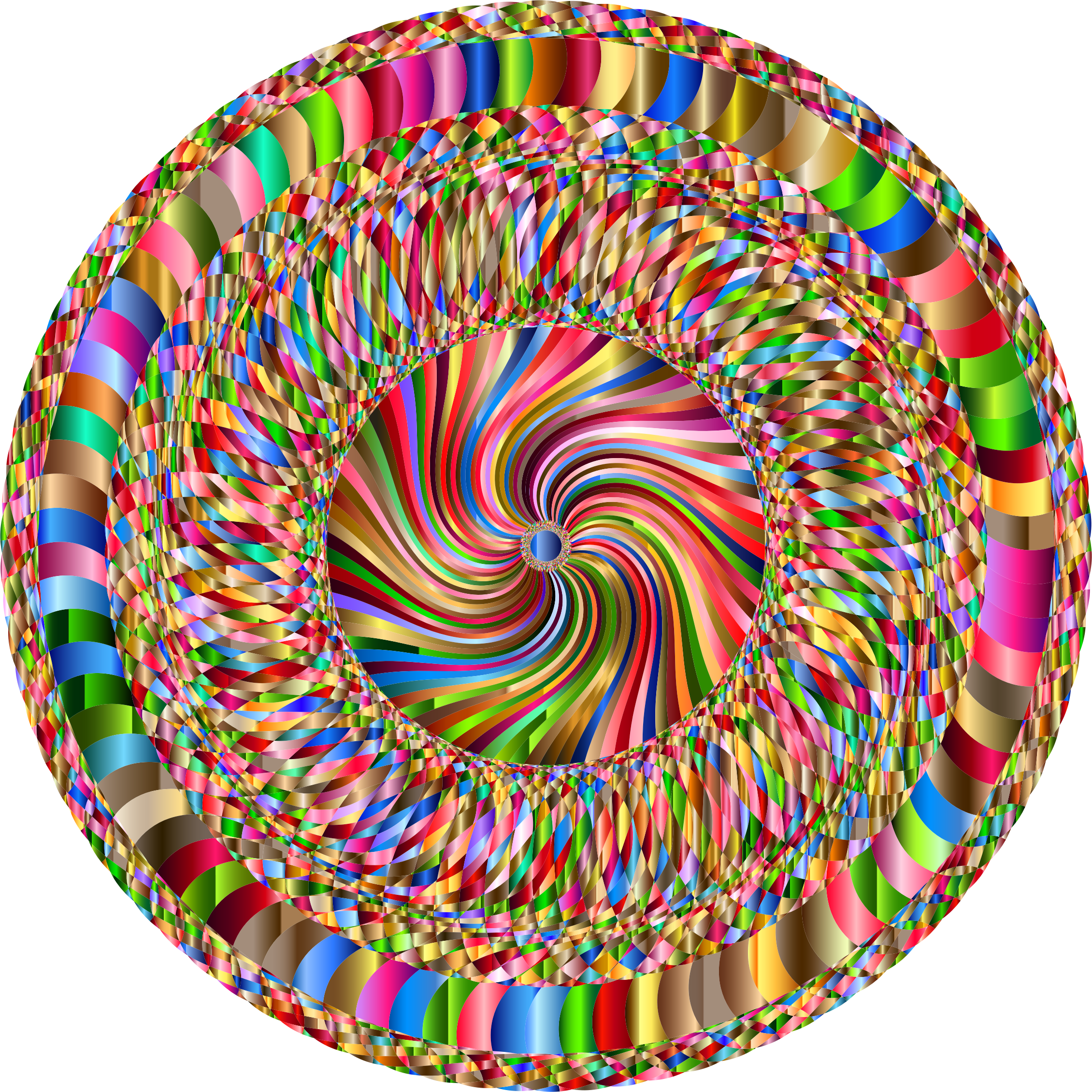 Clipart - Prismatic Whirlpool 5