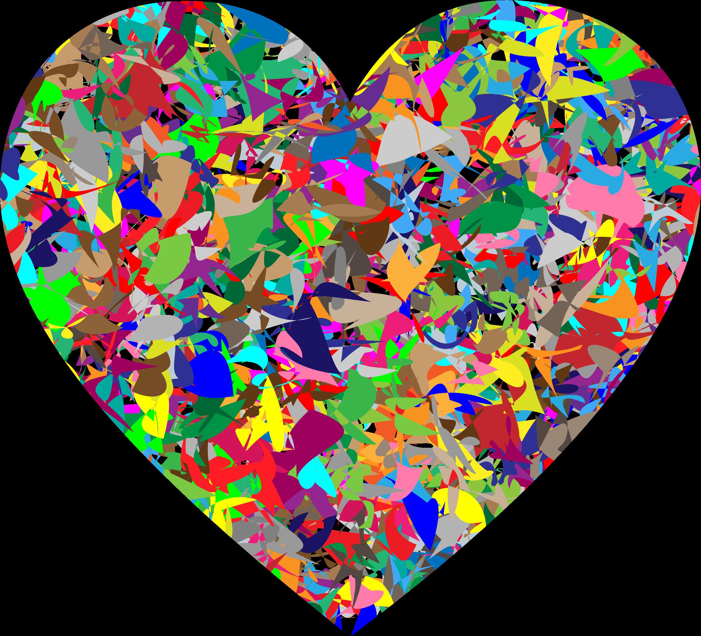 Modern Art Heart