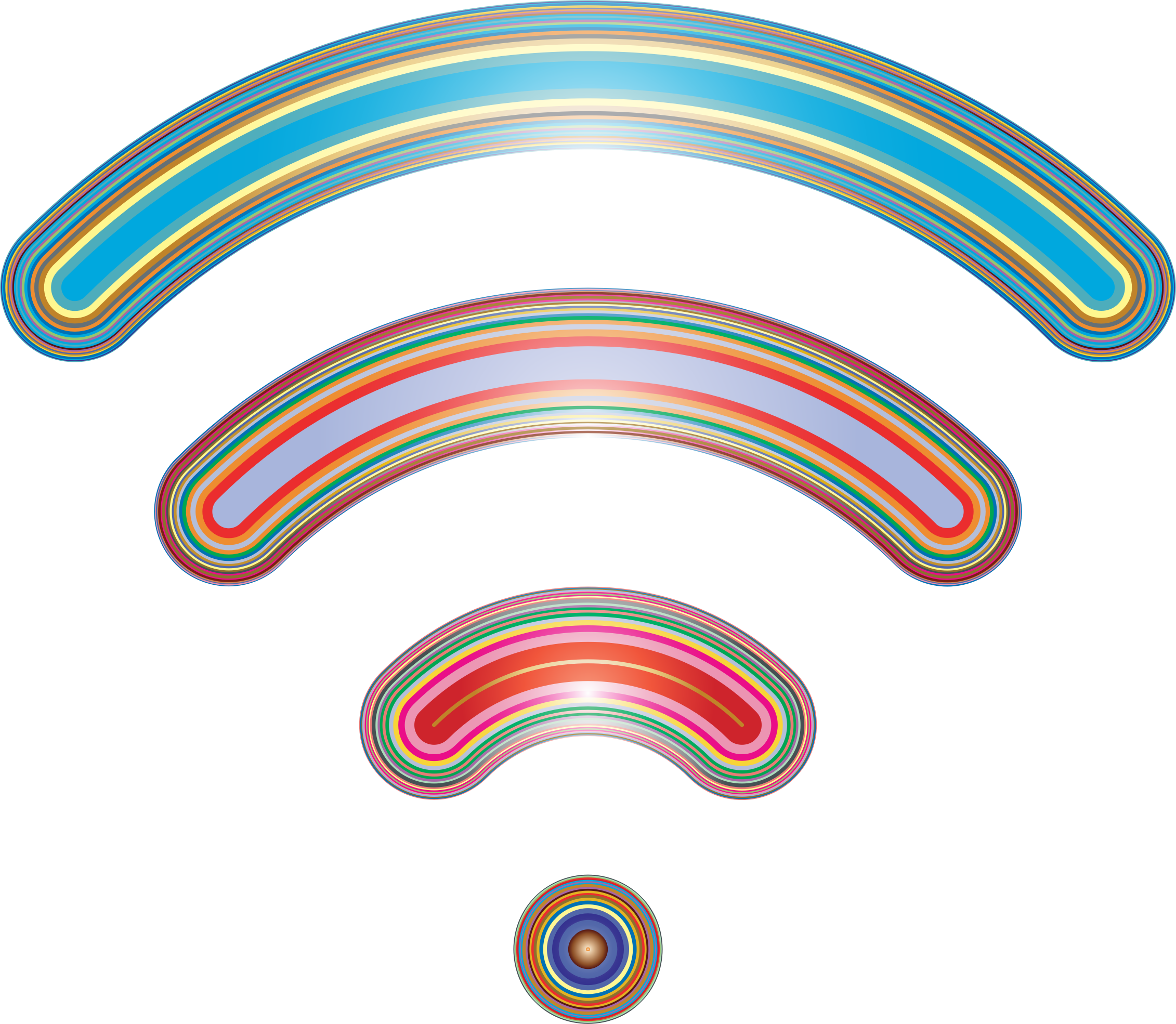 Wireless Signal Icon Enhanced by GDJ