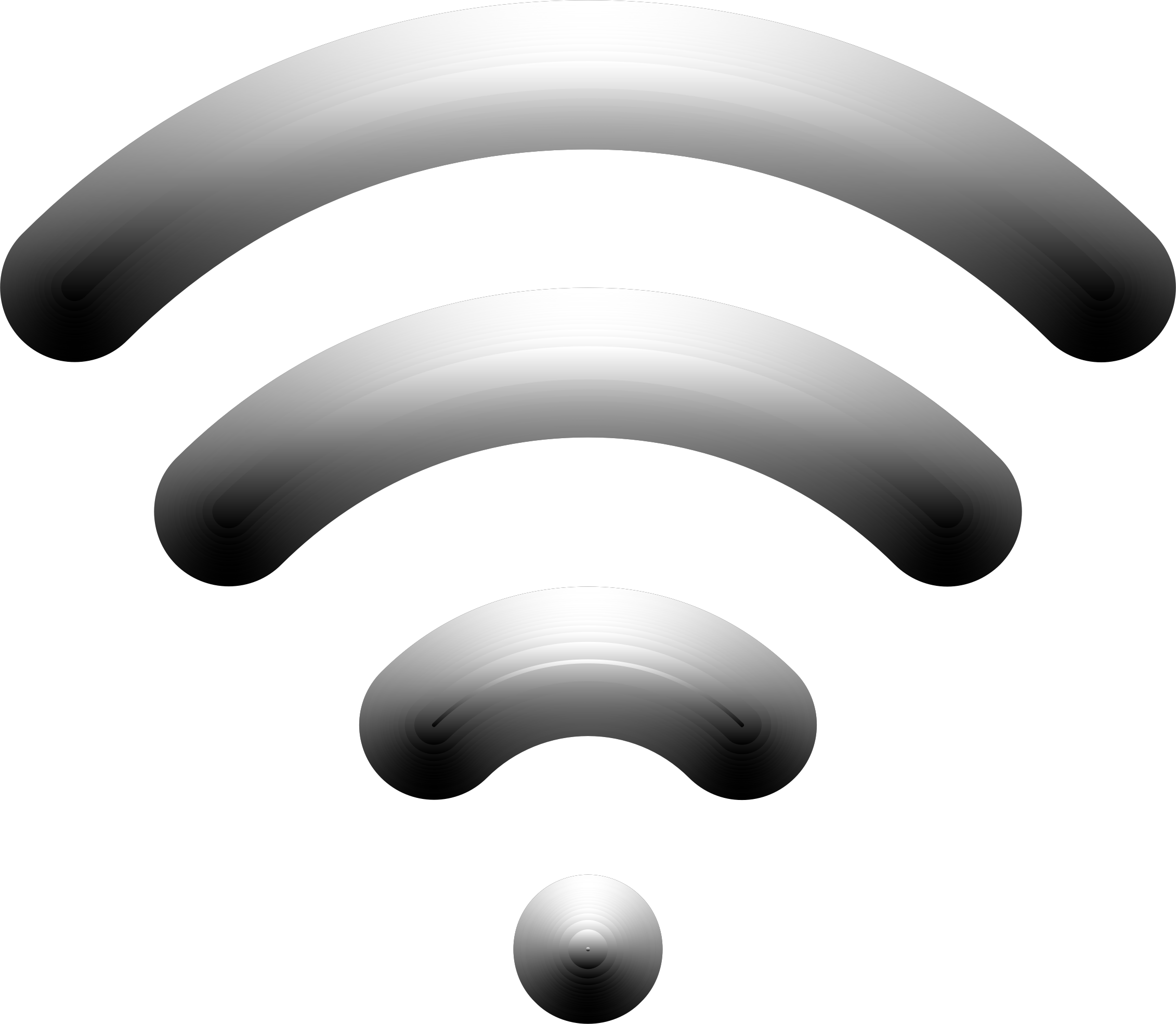 Wireless Signal Icon Enhanced 2 Variation 2 by GDJ