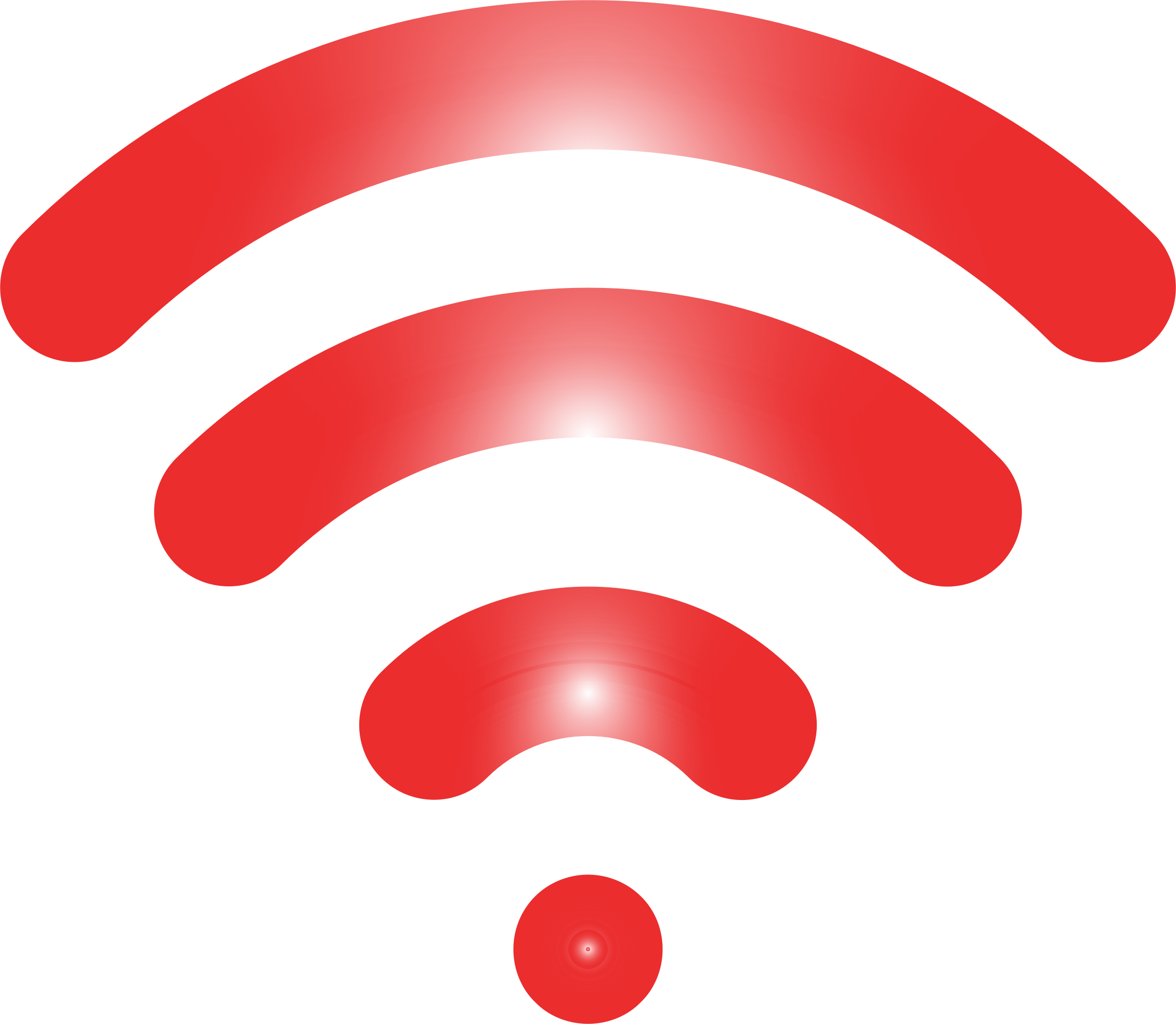 Wireless Signal Icon Enhanced 5 by GDJ