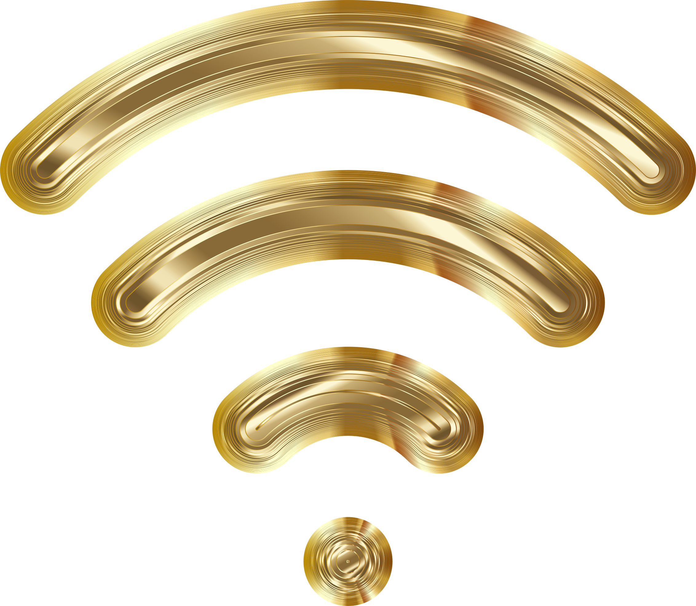 Wireless Signal Icon Enhanced 7 Variation 3 by GDJ