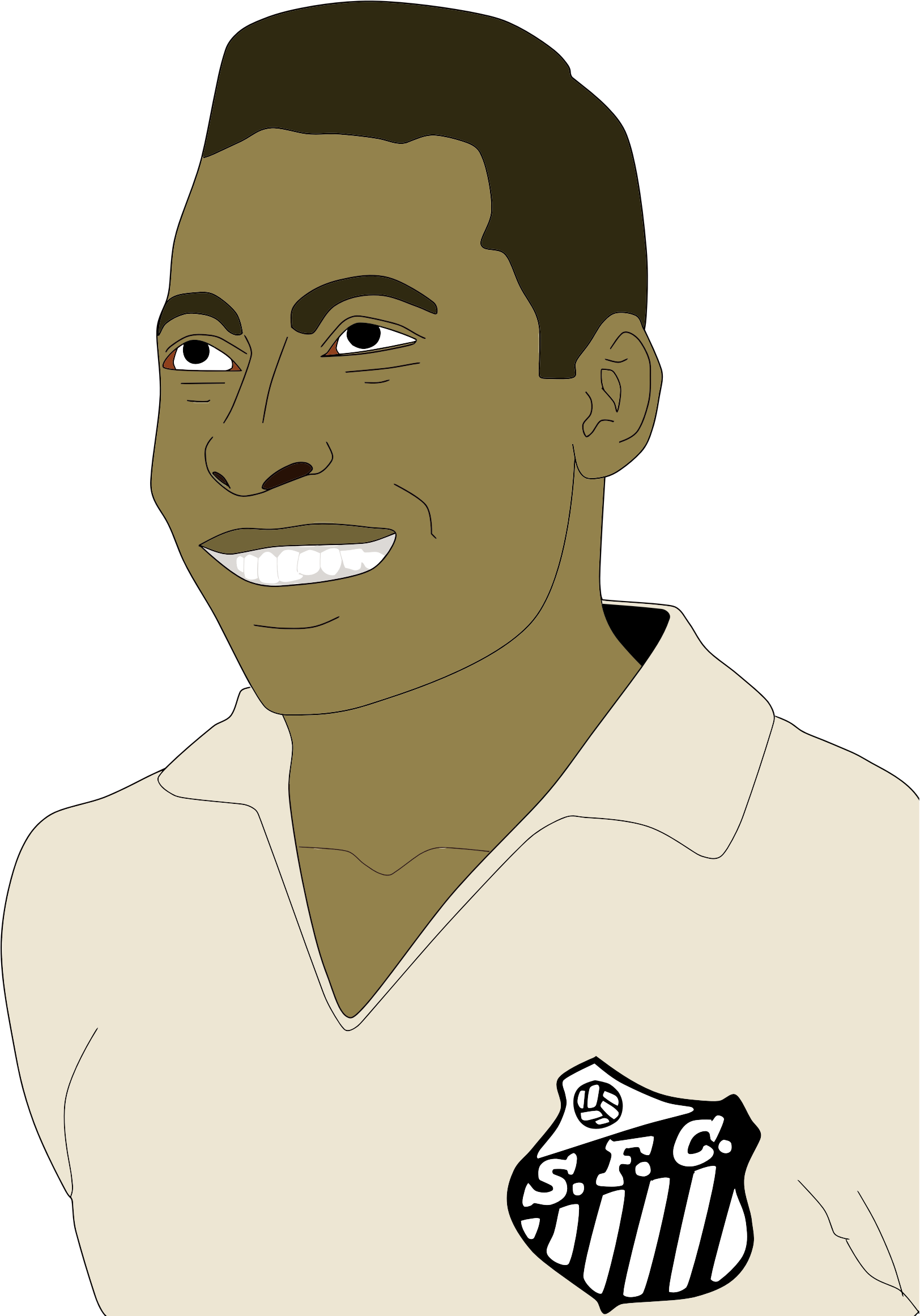 Pele Portrait by GDJ