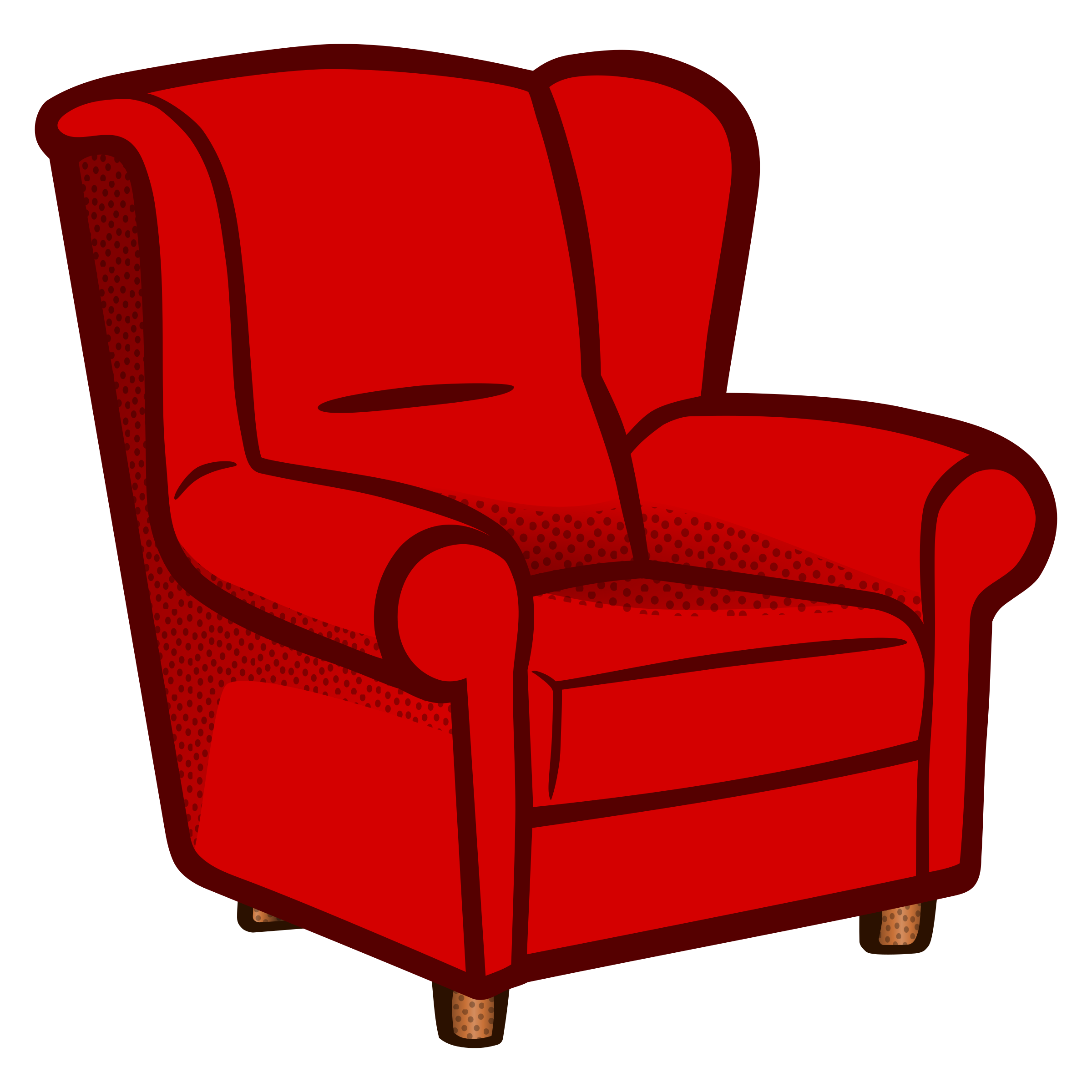 Sessel clipart  Clipart - armchair - coloured