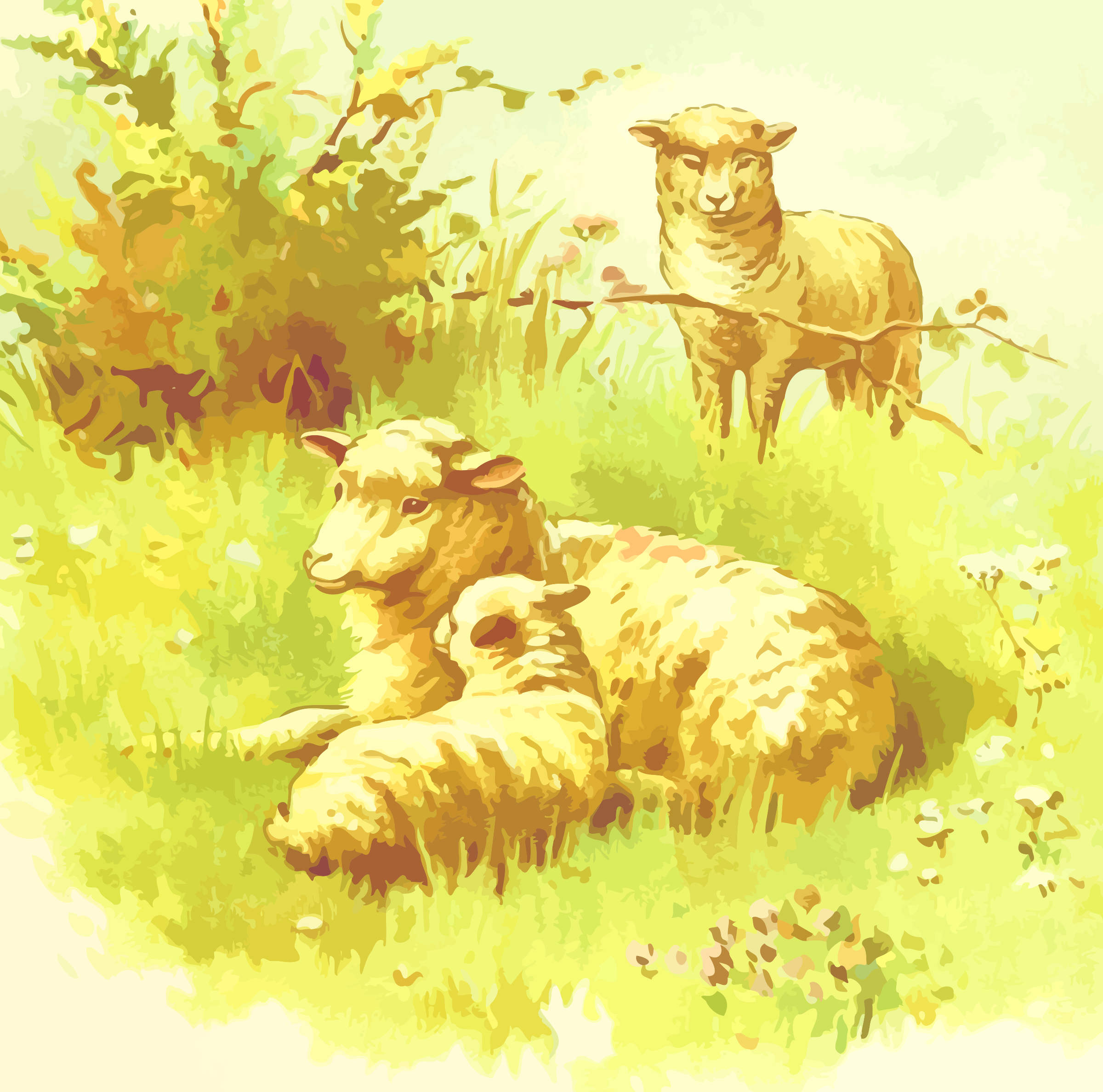 Sheep 2 by Firkin