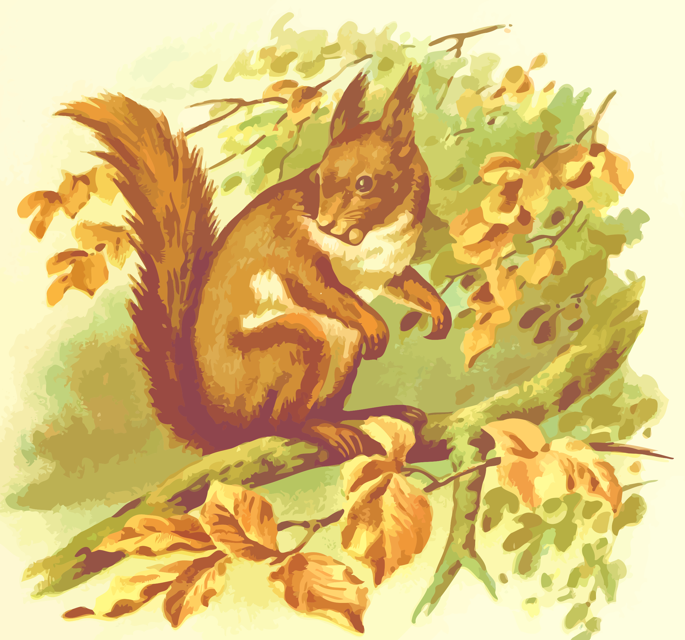 Squirrel 2 by Firkin