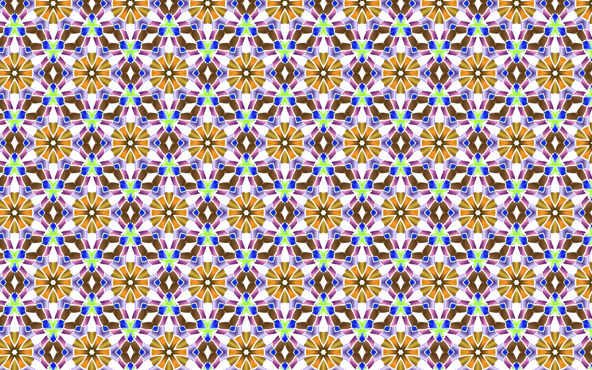 Chromatic Widescreen Pattern by GDJ