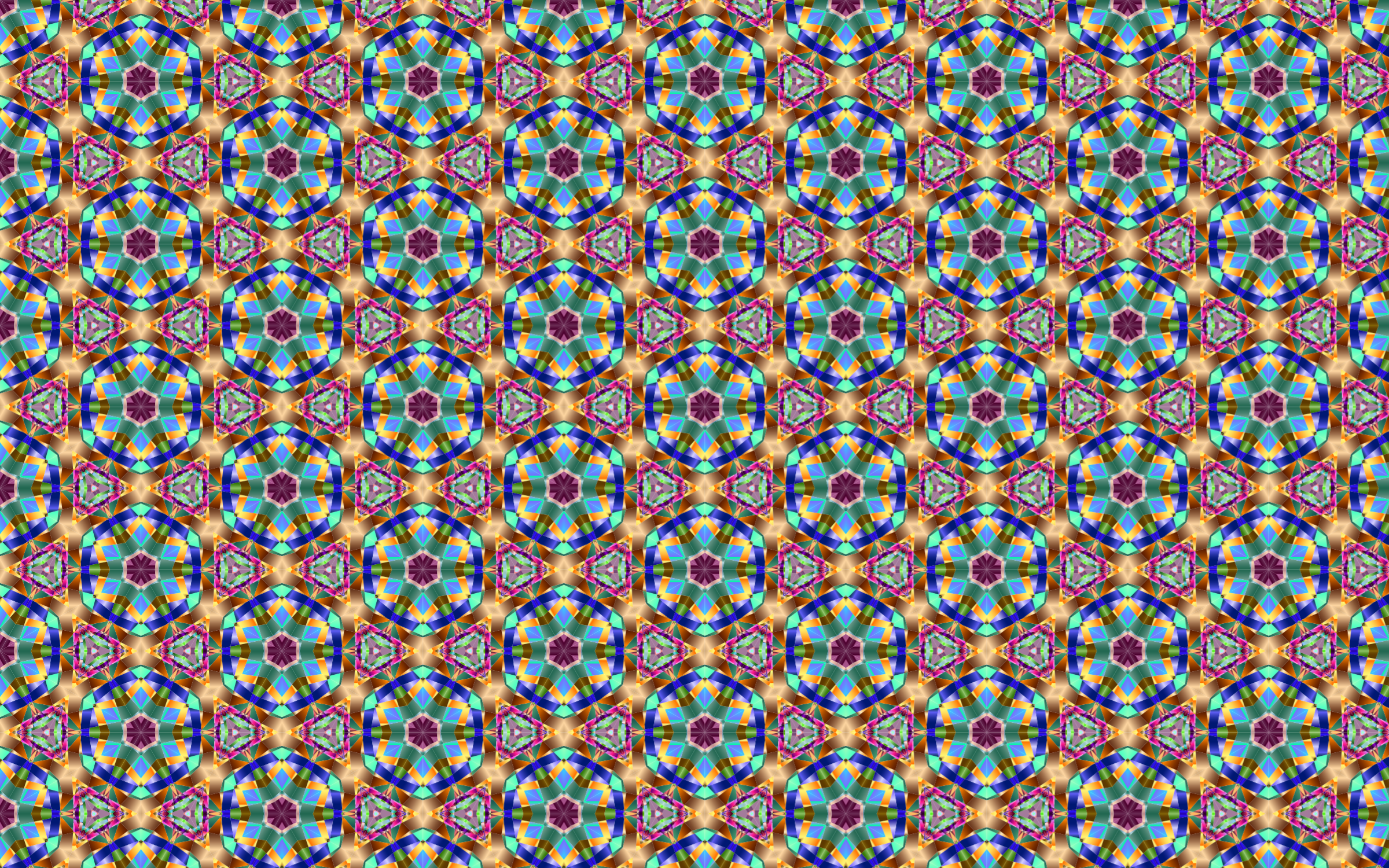 Chromatic Widescreen Pattern 4 by GDJ