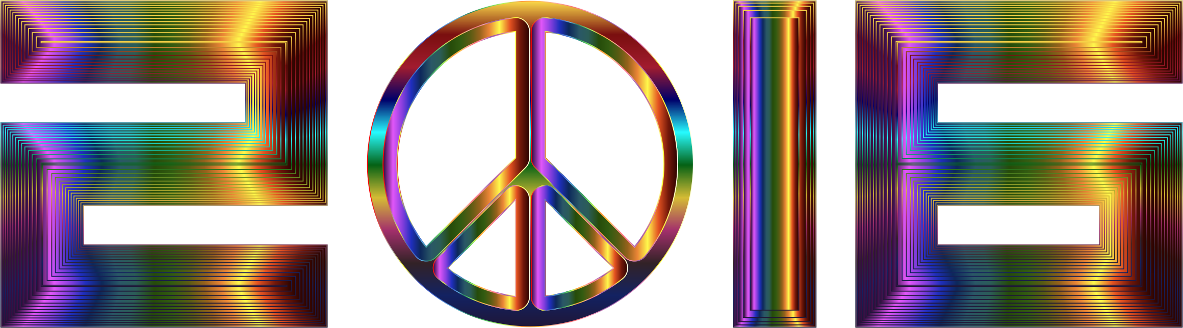 Chromatic 2016 Peace by GDJ