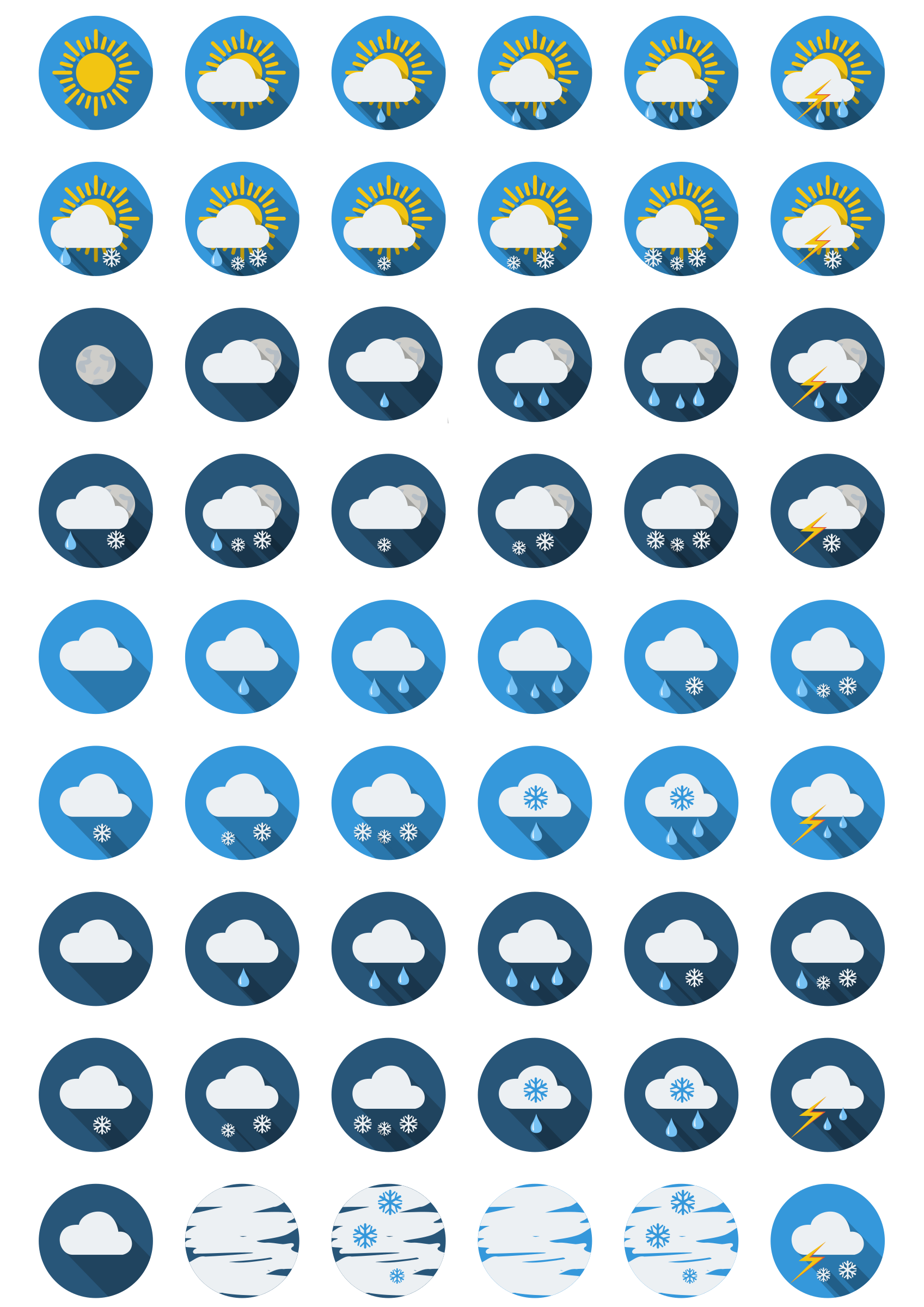 Weather-round-icons by svm