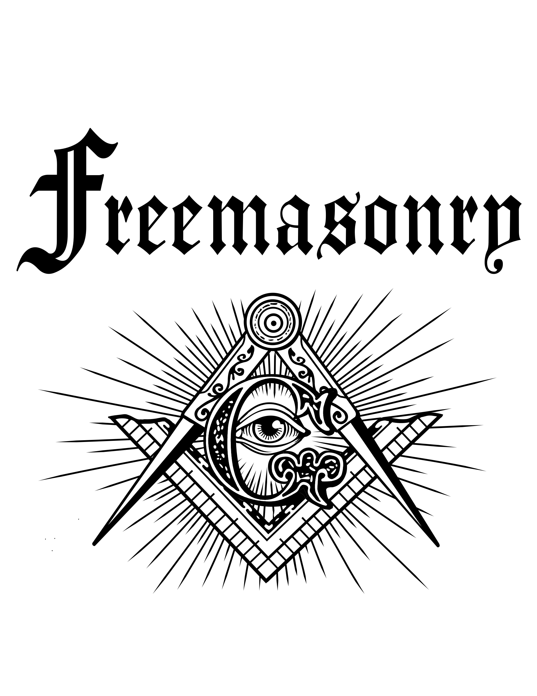 Freemasonry,  Masonic Blue Lodge Logo designed by  Brothers for Brothers. 32nd degree Scottish Rite Freemason  by SacredMasonry