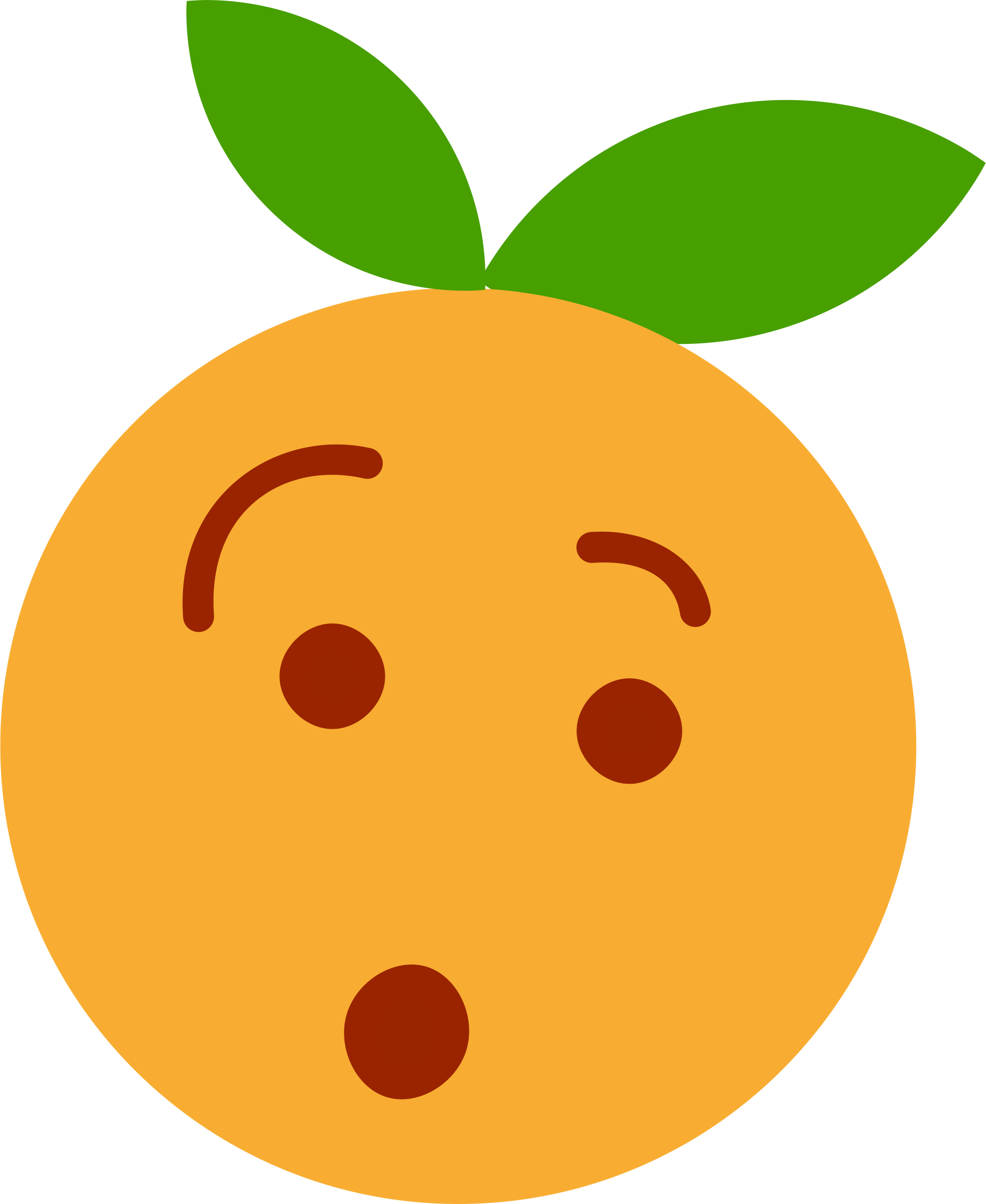 Smiley Clem Euh? by Justin Ternet Clementine