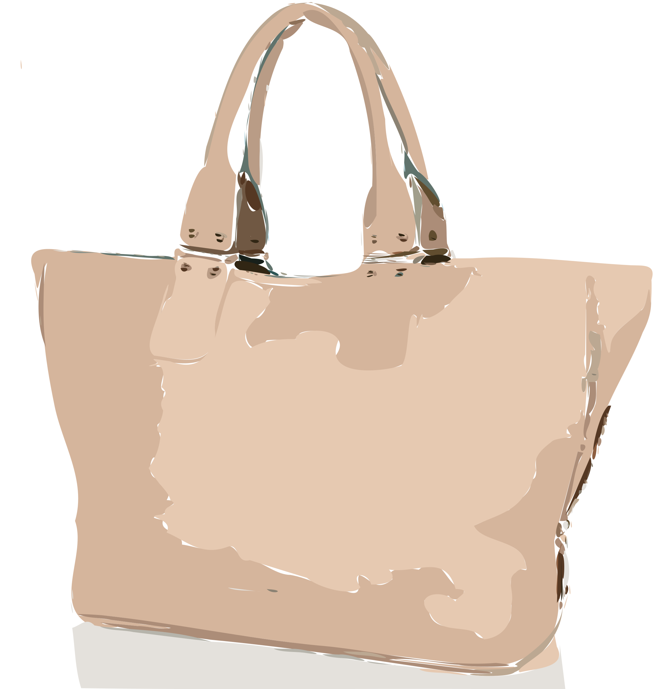 Tan Handbag No Logo by rejon