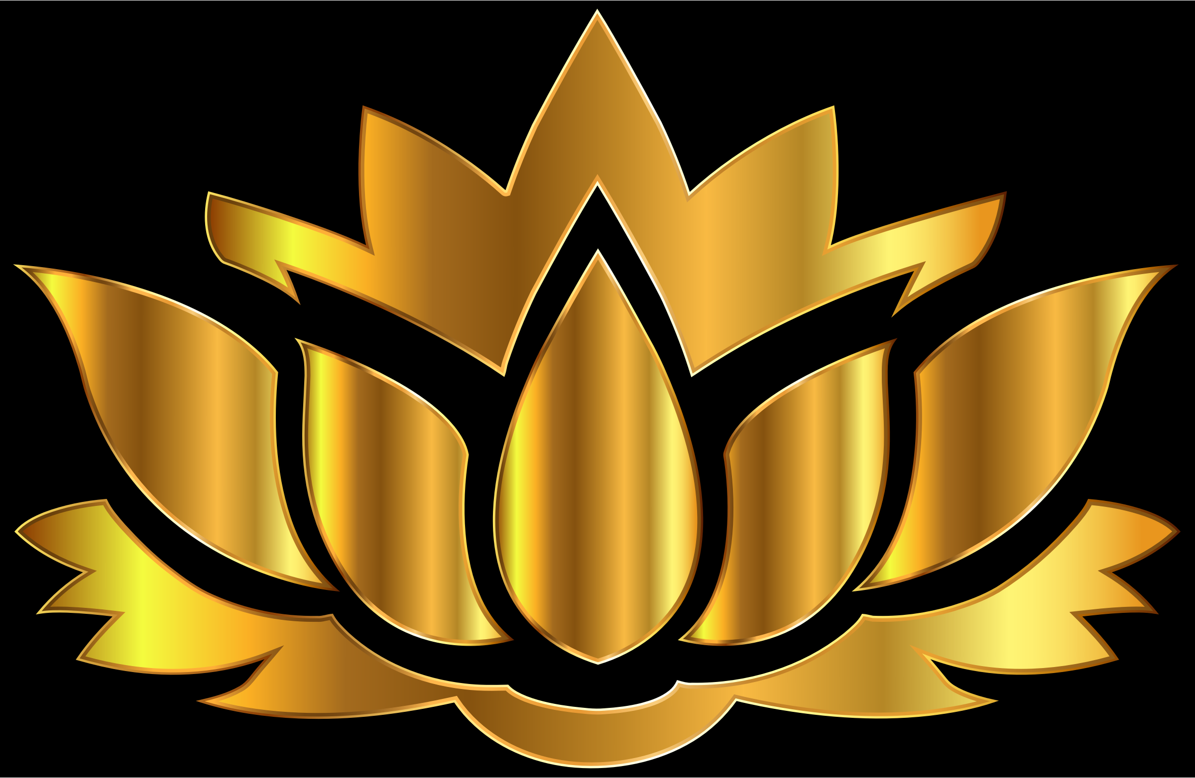 Gallery For Lotus Flower Silhouette Clipart