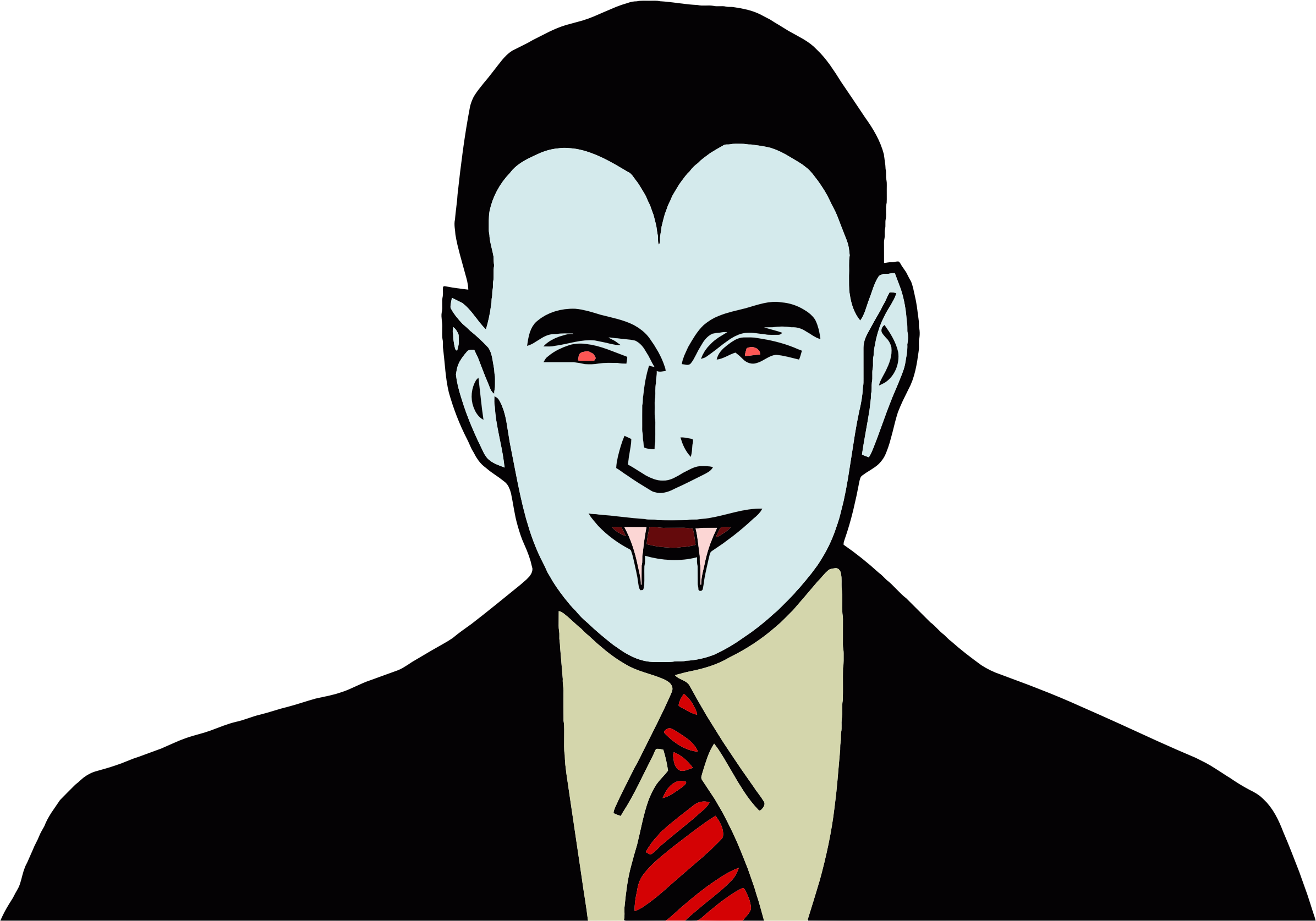 Cartoon Dracula by GDJ