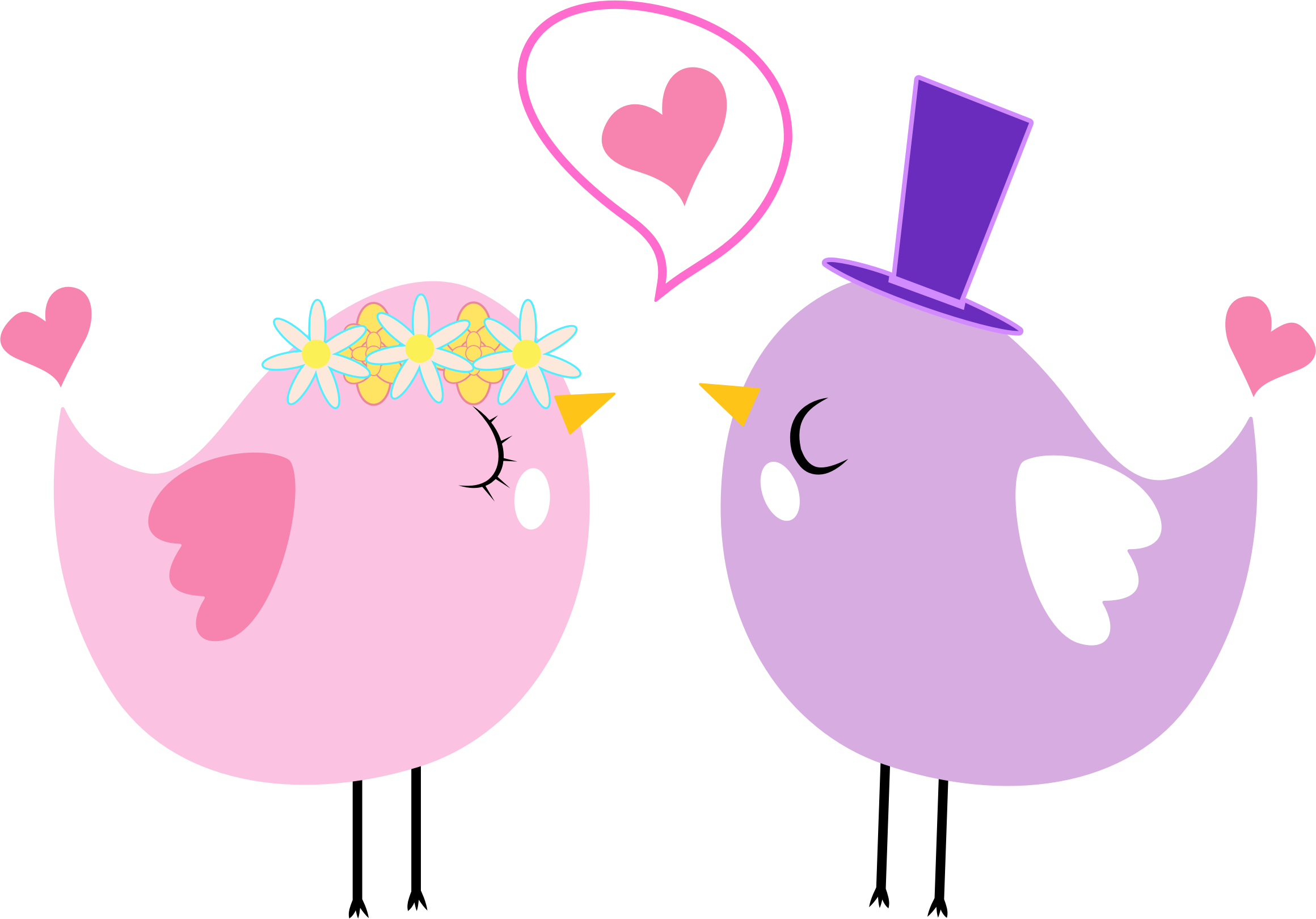 clipart formal love birds rh openclipart org two love birds clip art love birds clipart wedding