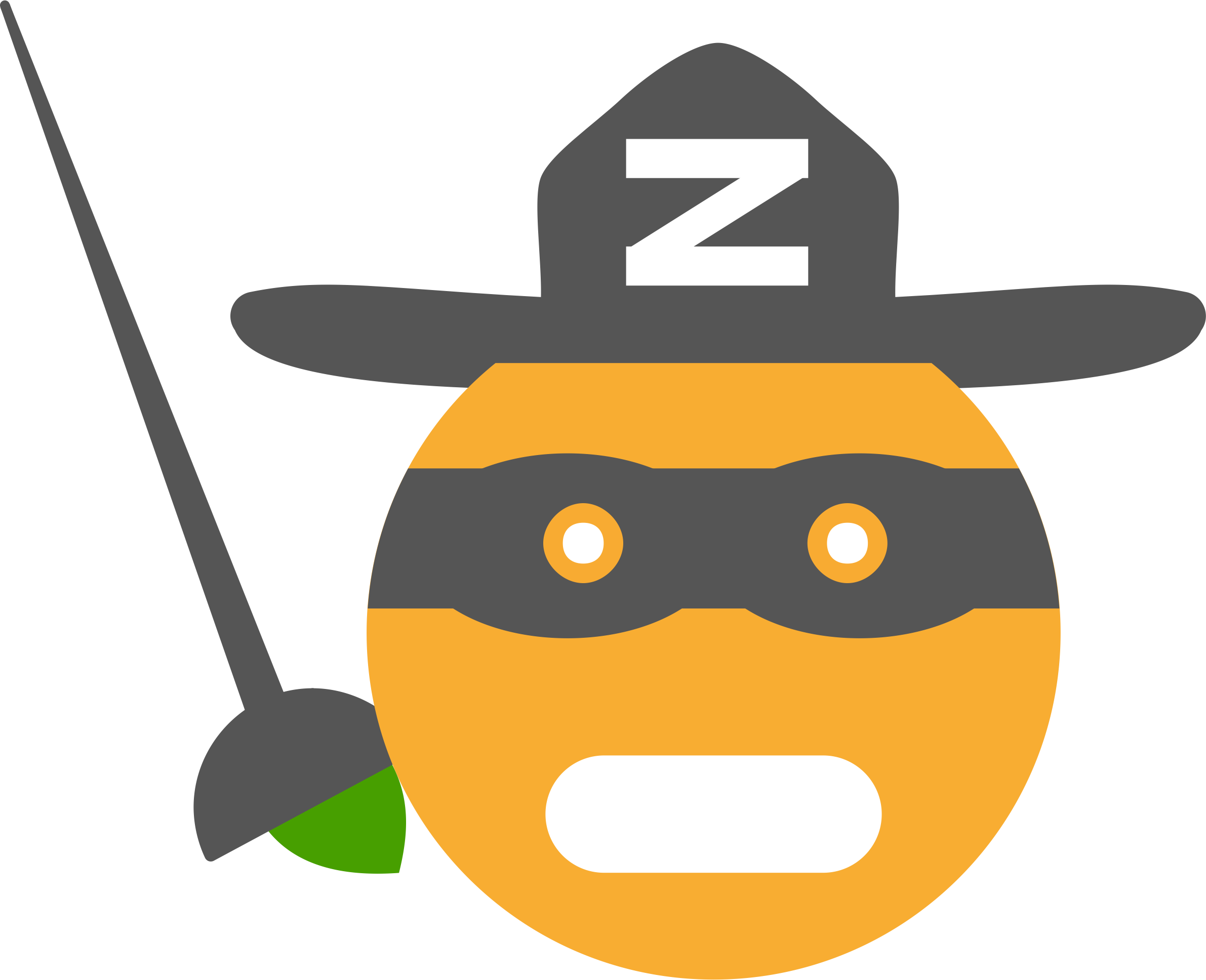 Smiley Clem Zorro by Justin Ternet