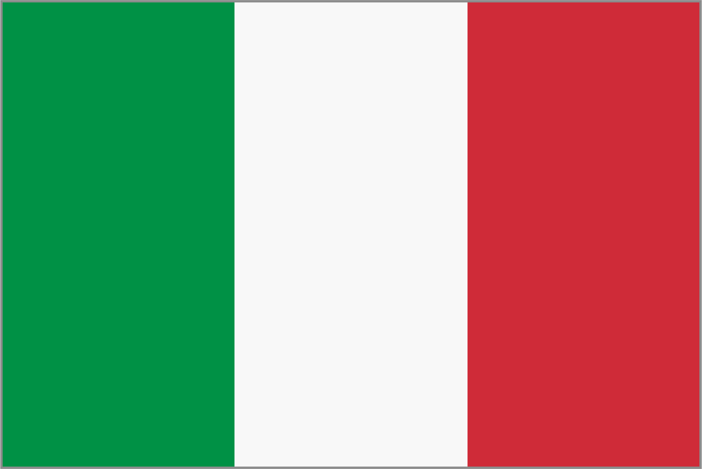 Framed flag of Italy by AdamStanislav