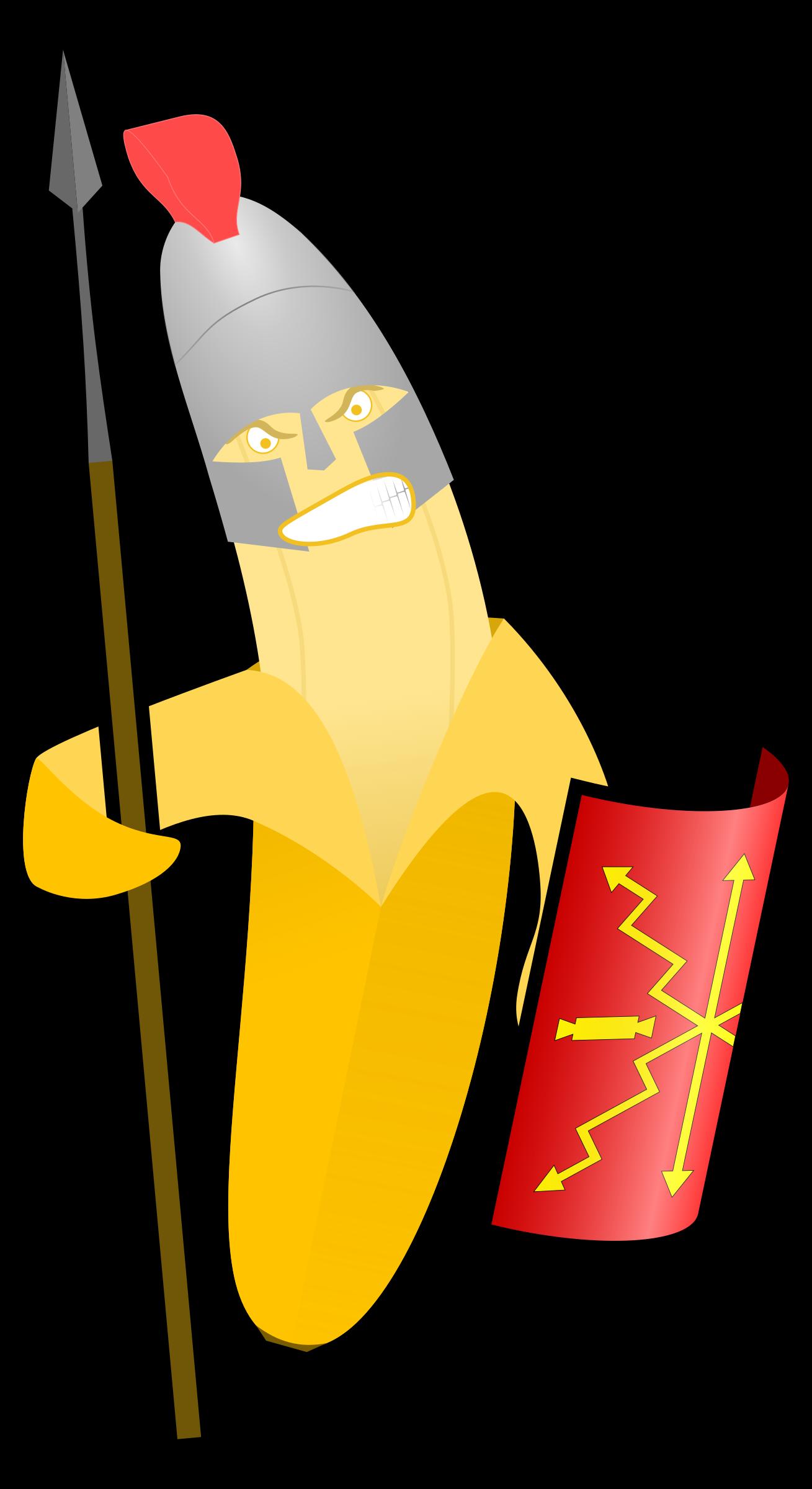 Banana Warrior by jbaldus