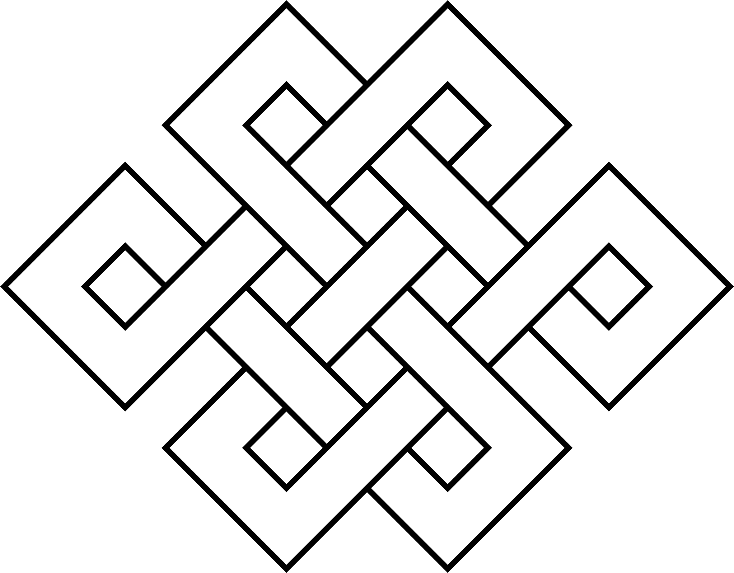 Coloring Page Endless Knot by AdamStanislav