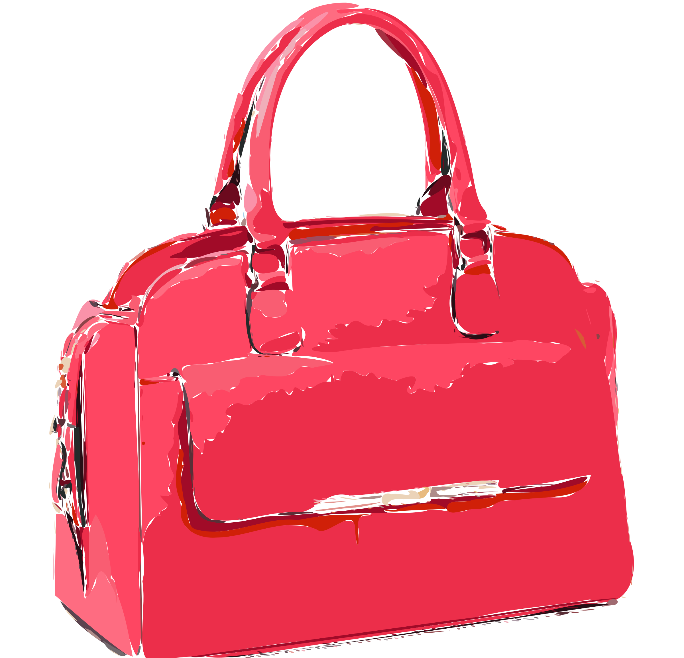 Bright Pink Bag by rejon