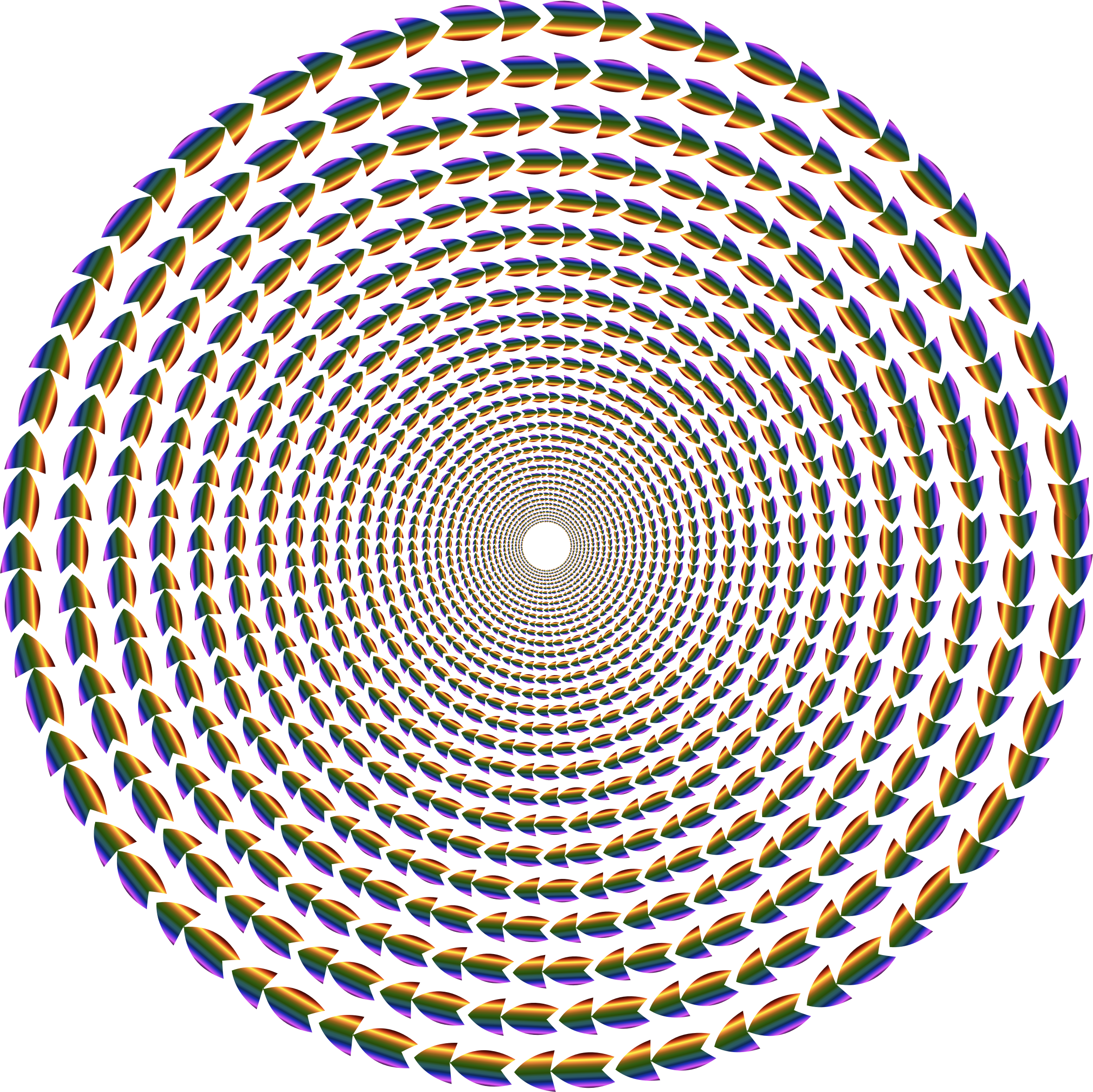 Colorful Direction Circle Vortex by GDJ