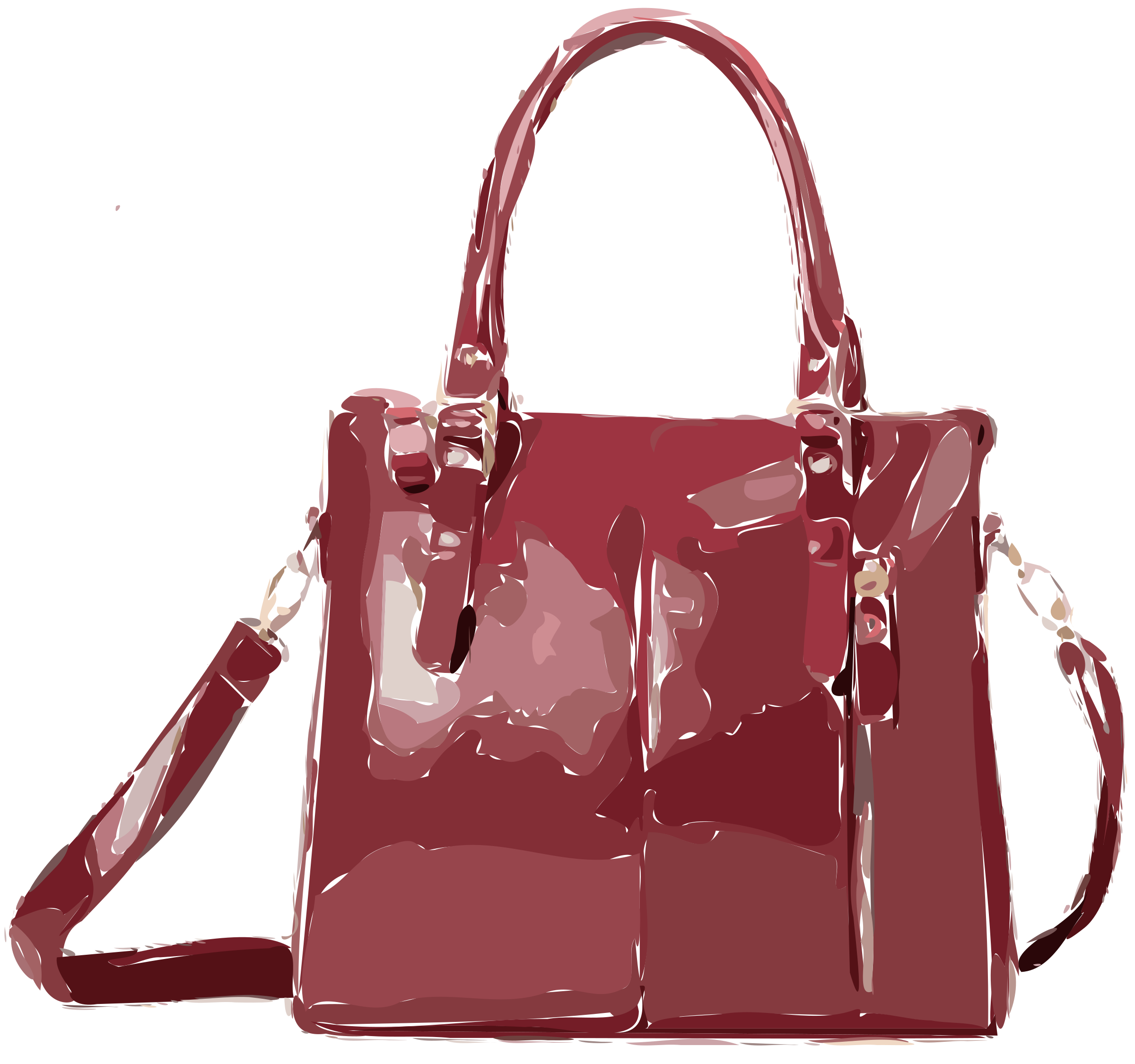 Dark Red Bag by rejon