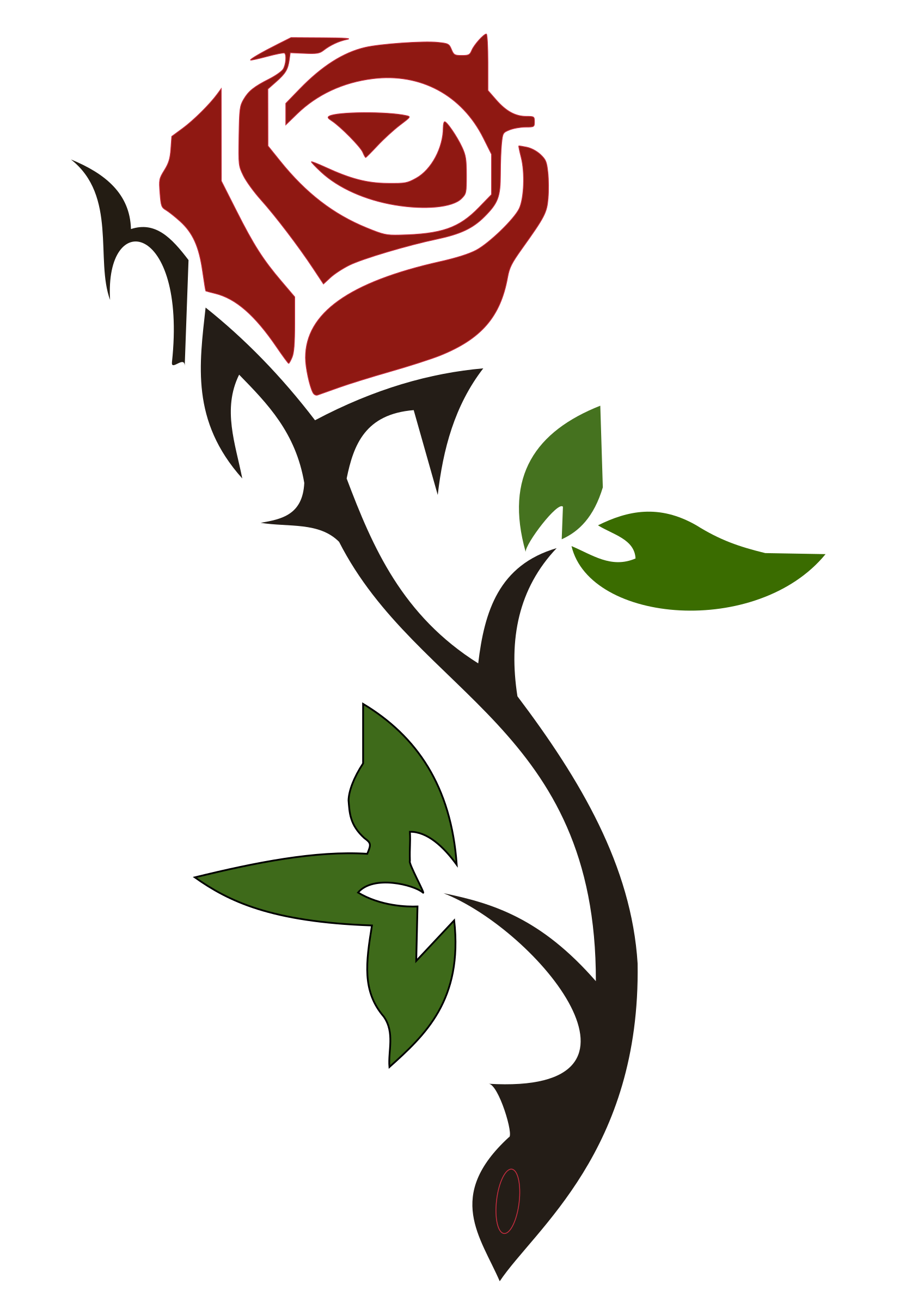 Simple Rose by Misael.Vasconcelos