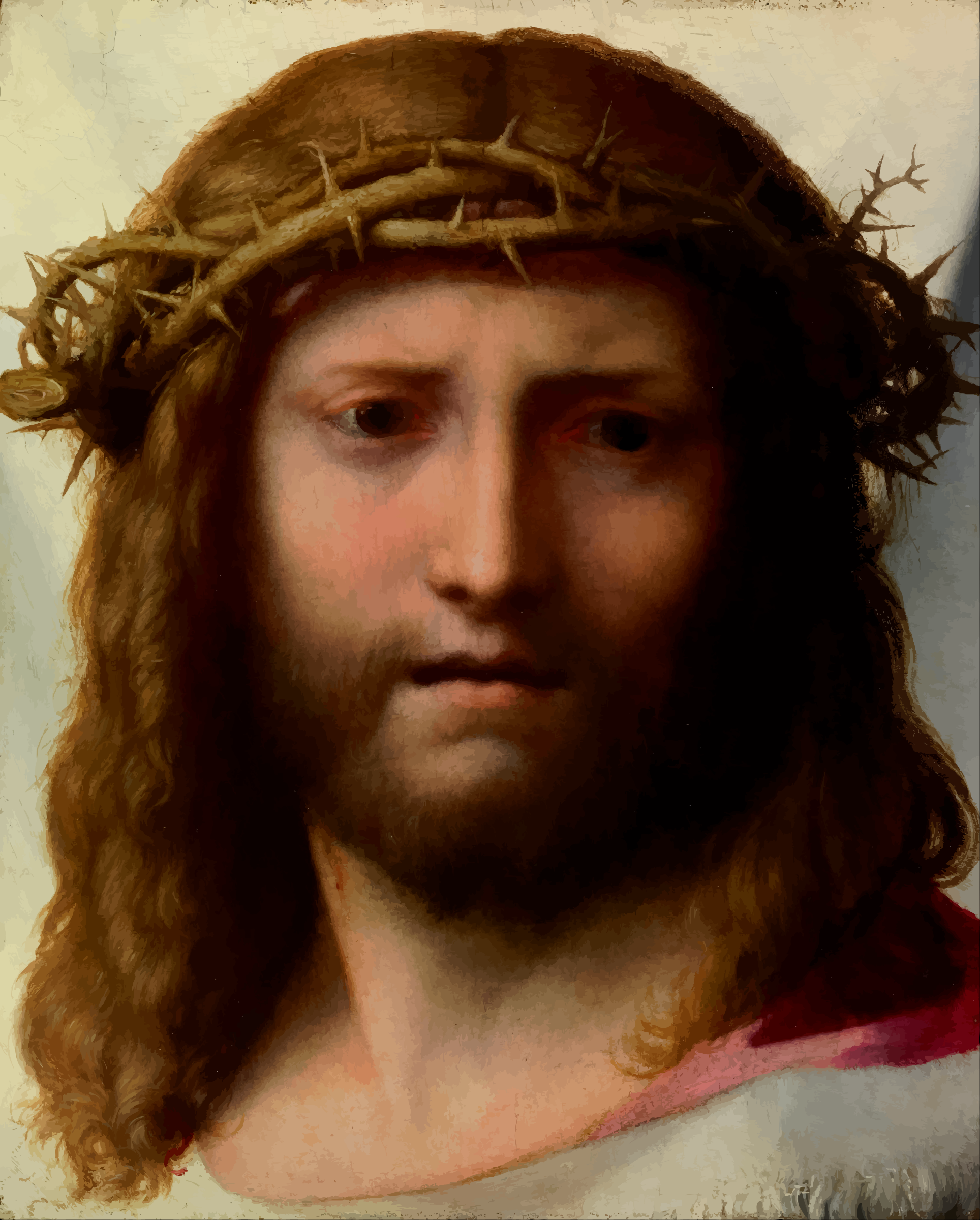 Head of Christ by Firkin