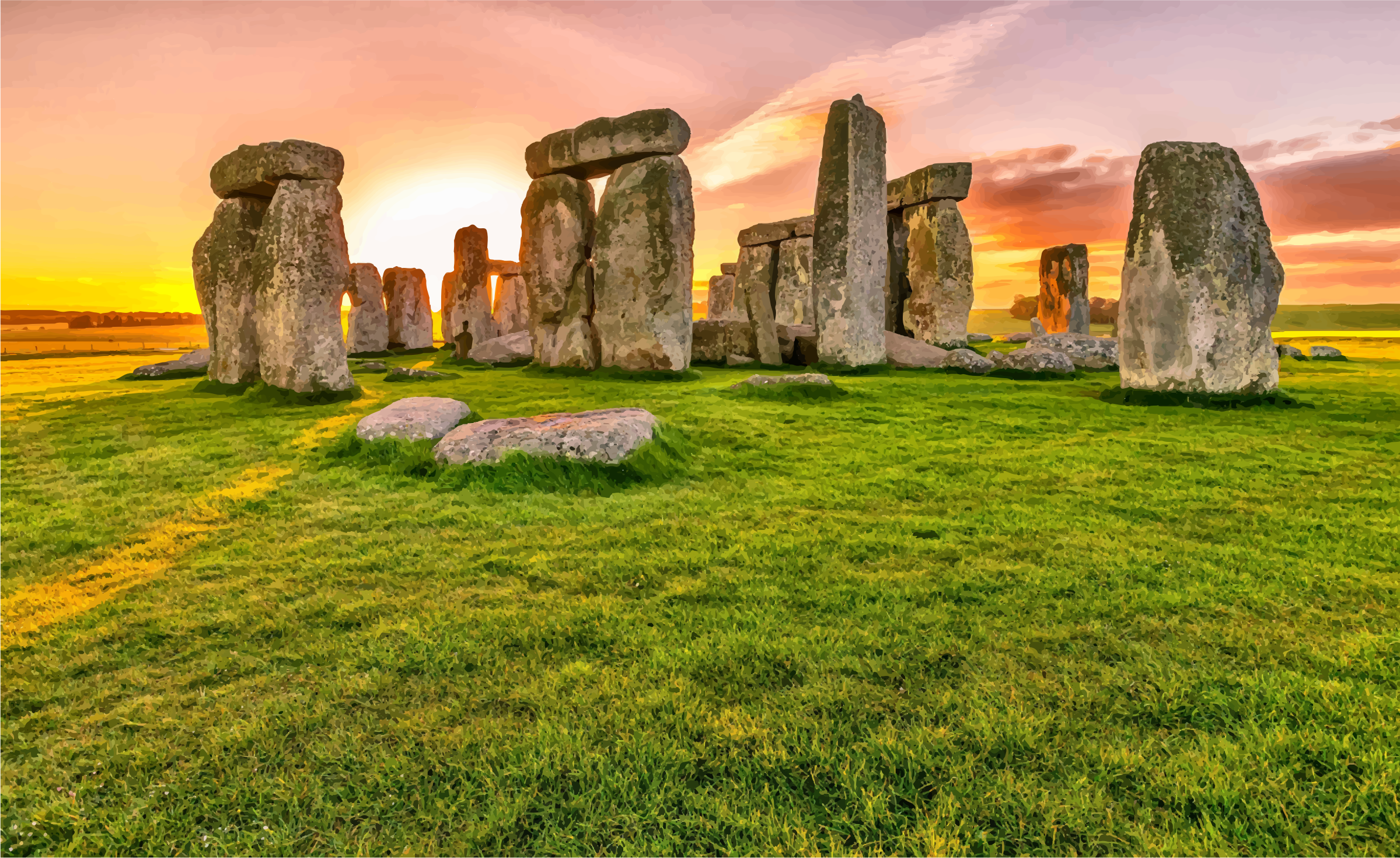 Stonehenge Sunrise by GDJ
