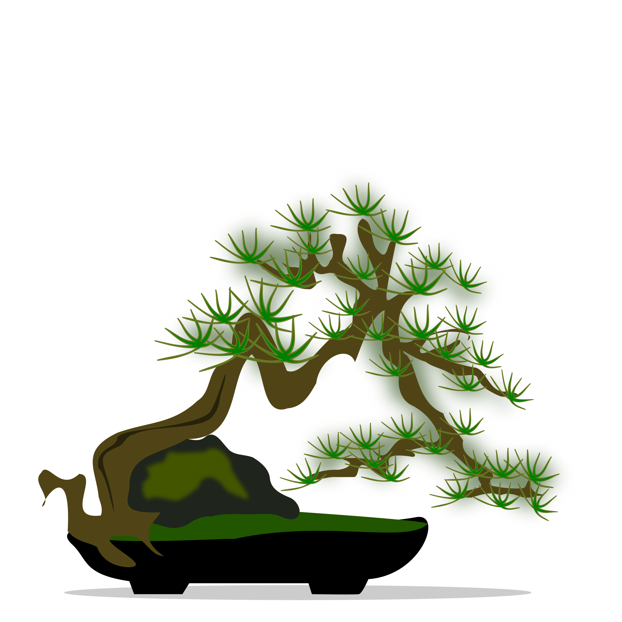 Clipart Bonsai 04