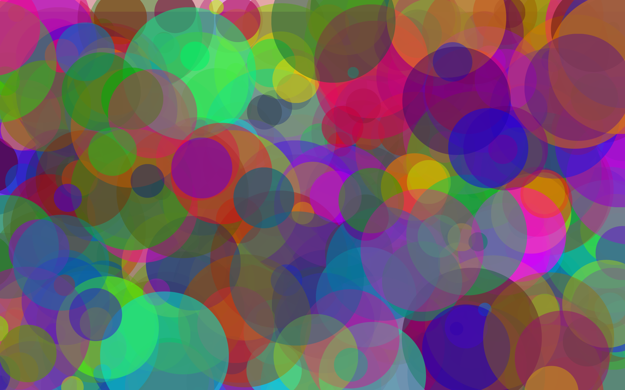Colorful Circles Background by GDJ