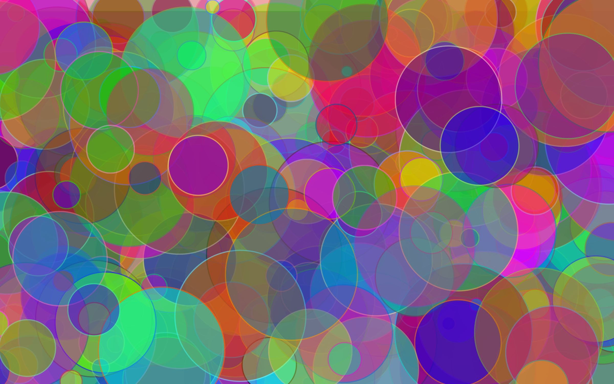 Colorful Circles Background With Strokes by GDJ