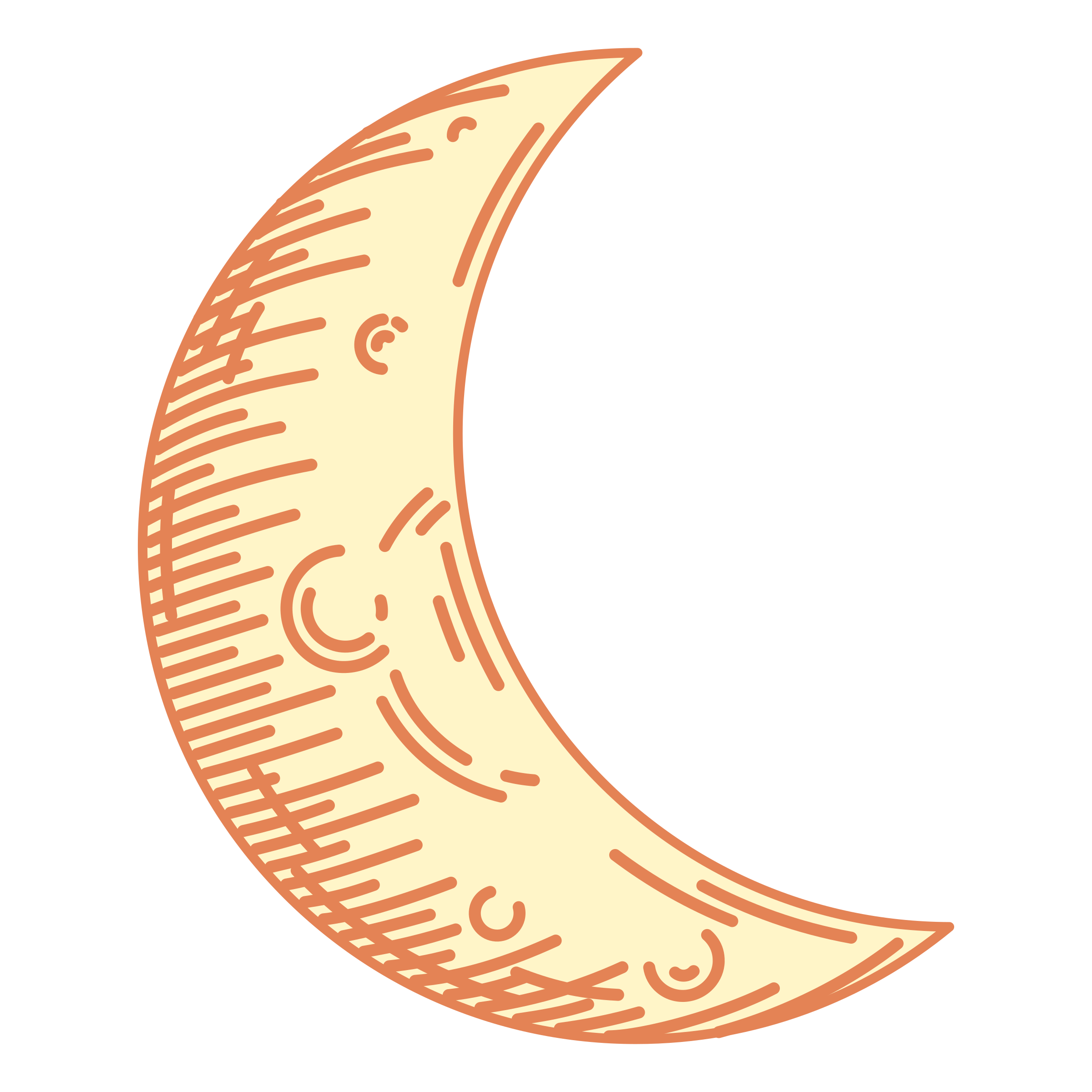 Crescent moon by m1981