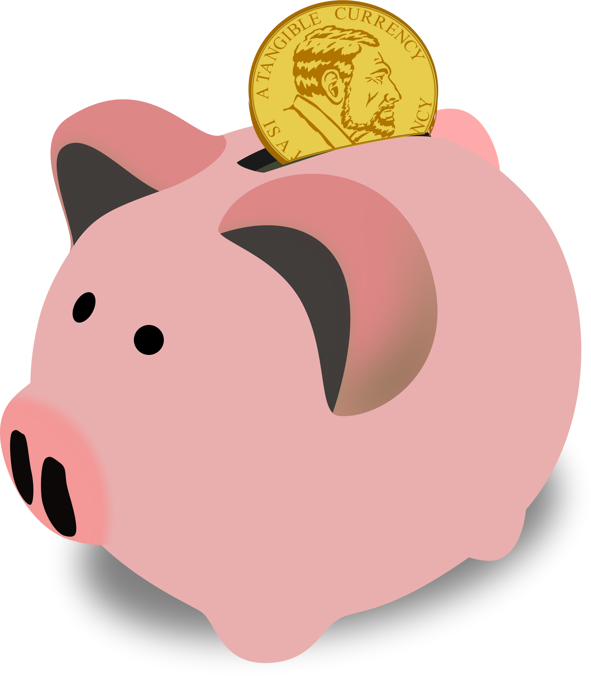Piggy Bank Money Clipart