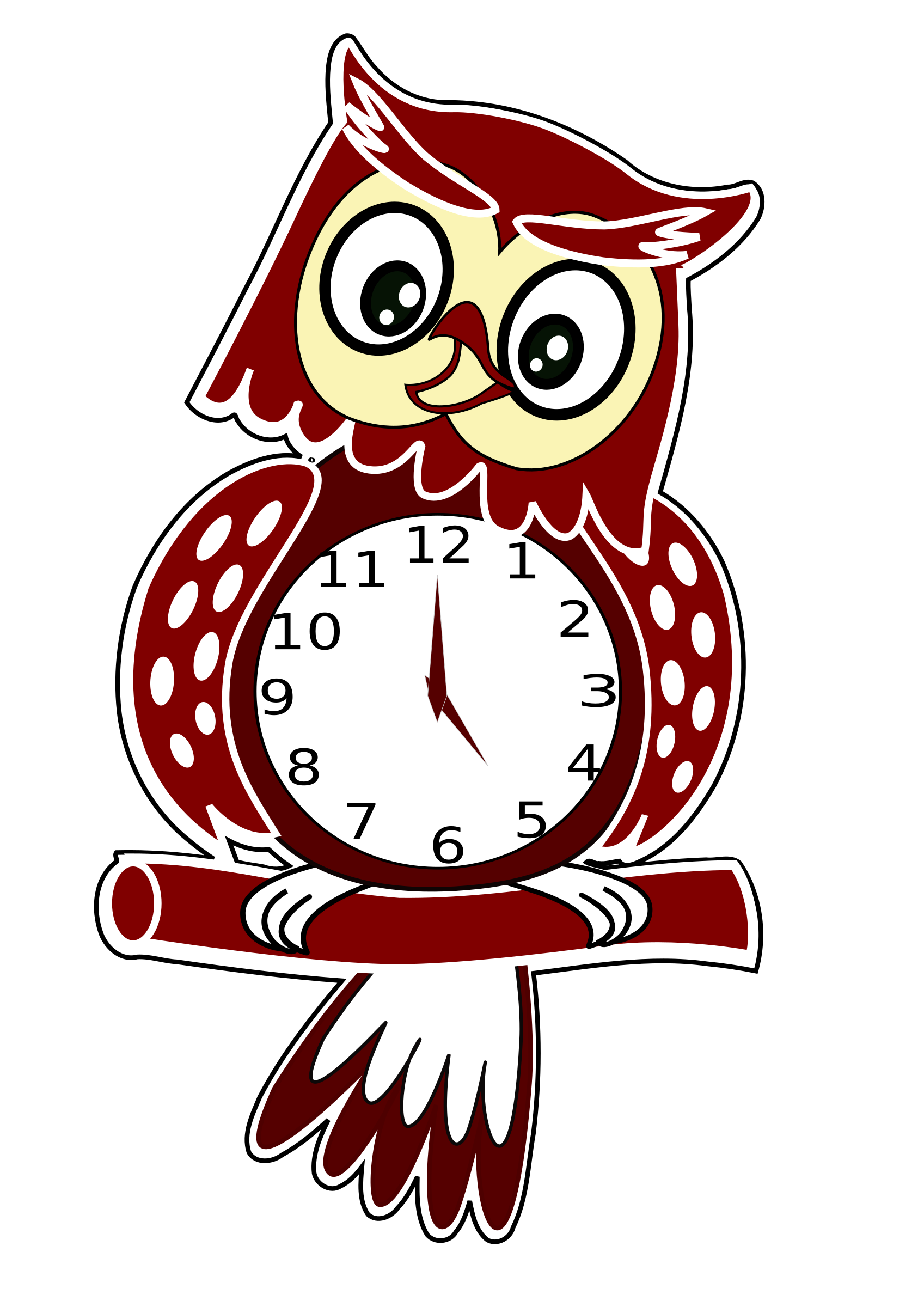 Owl Clock by JayNick