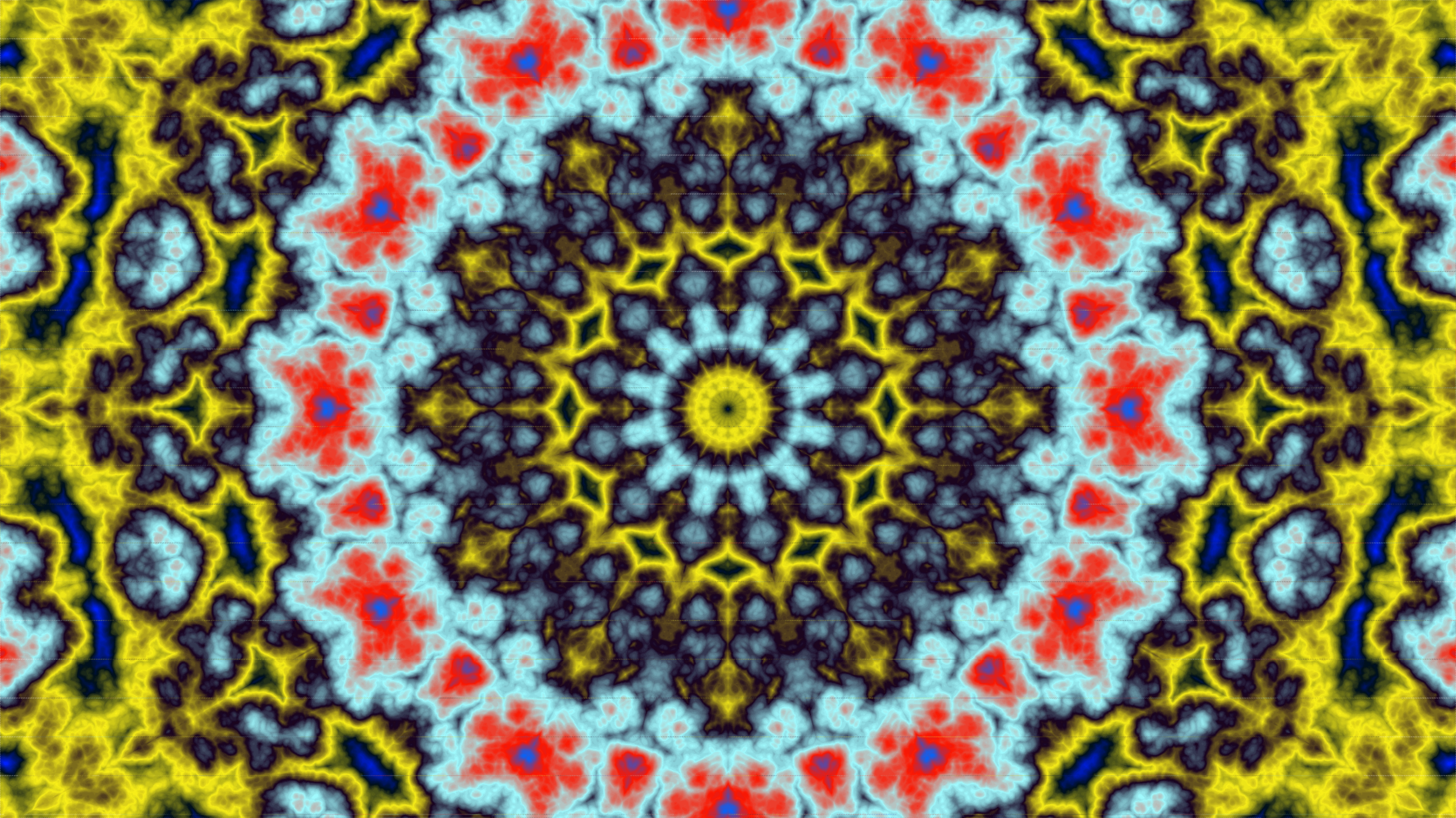 trippy kaleidoscope by Lazur URH