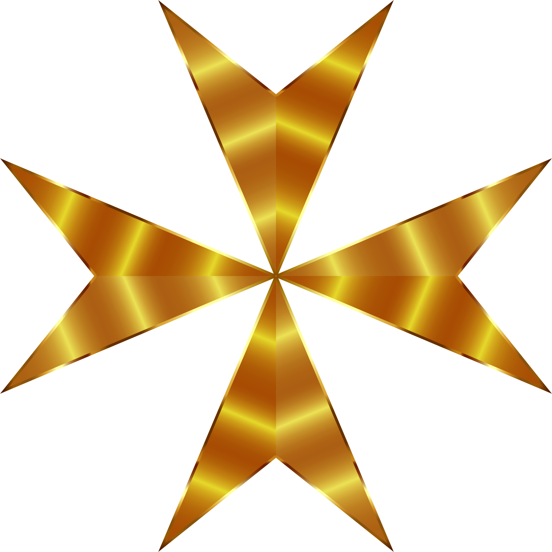 Gold Maltese Cross Mark II Enhanced by GDJ