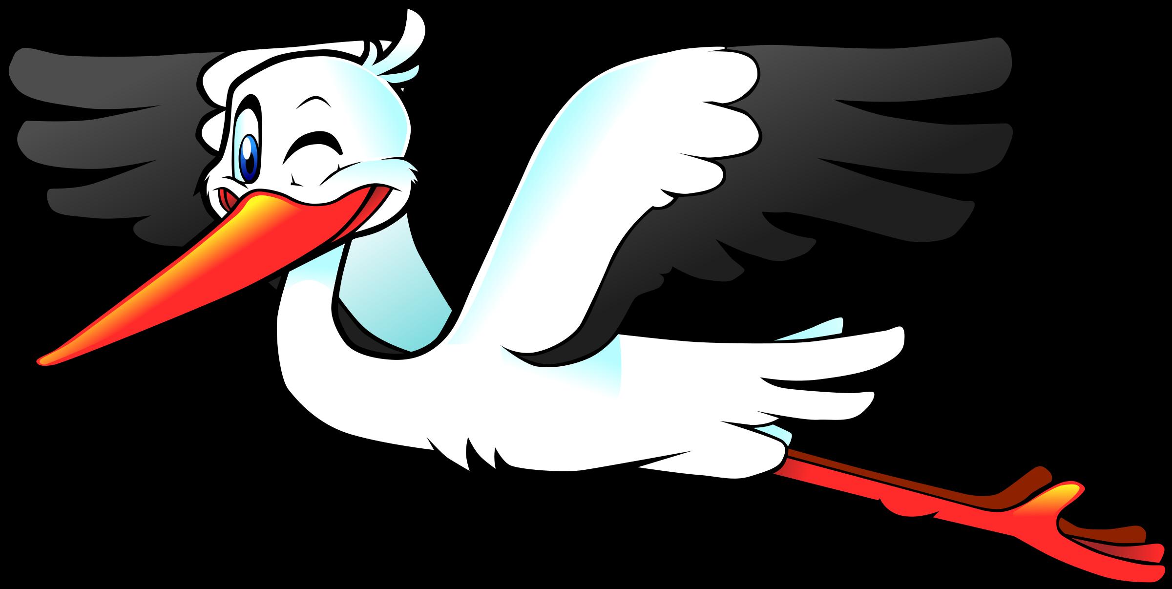 Clipart Stork