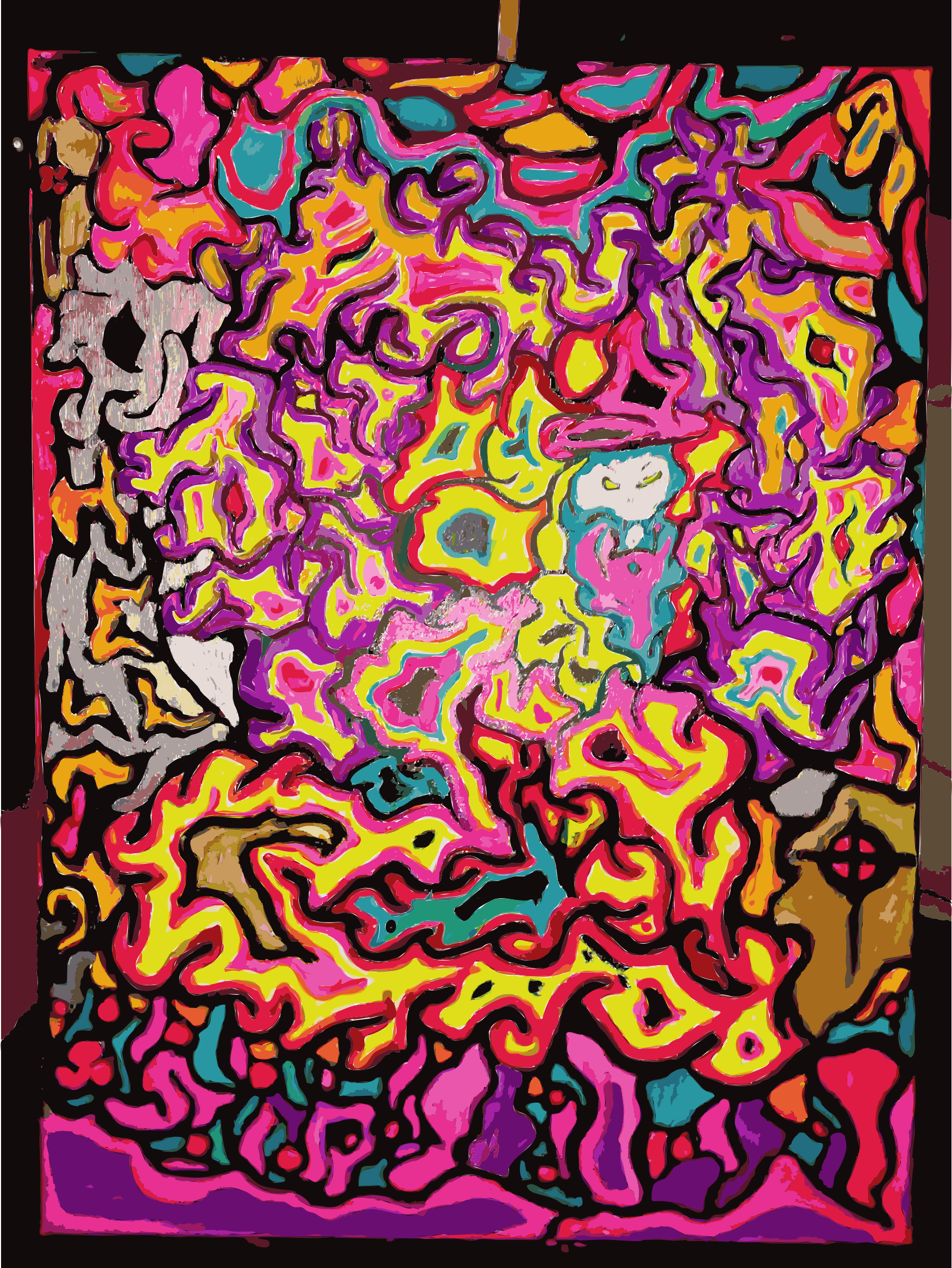 Funky Painting by leightonjim2