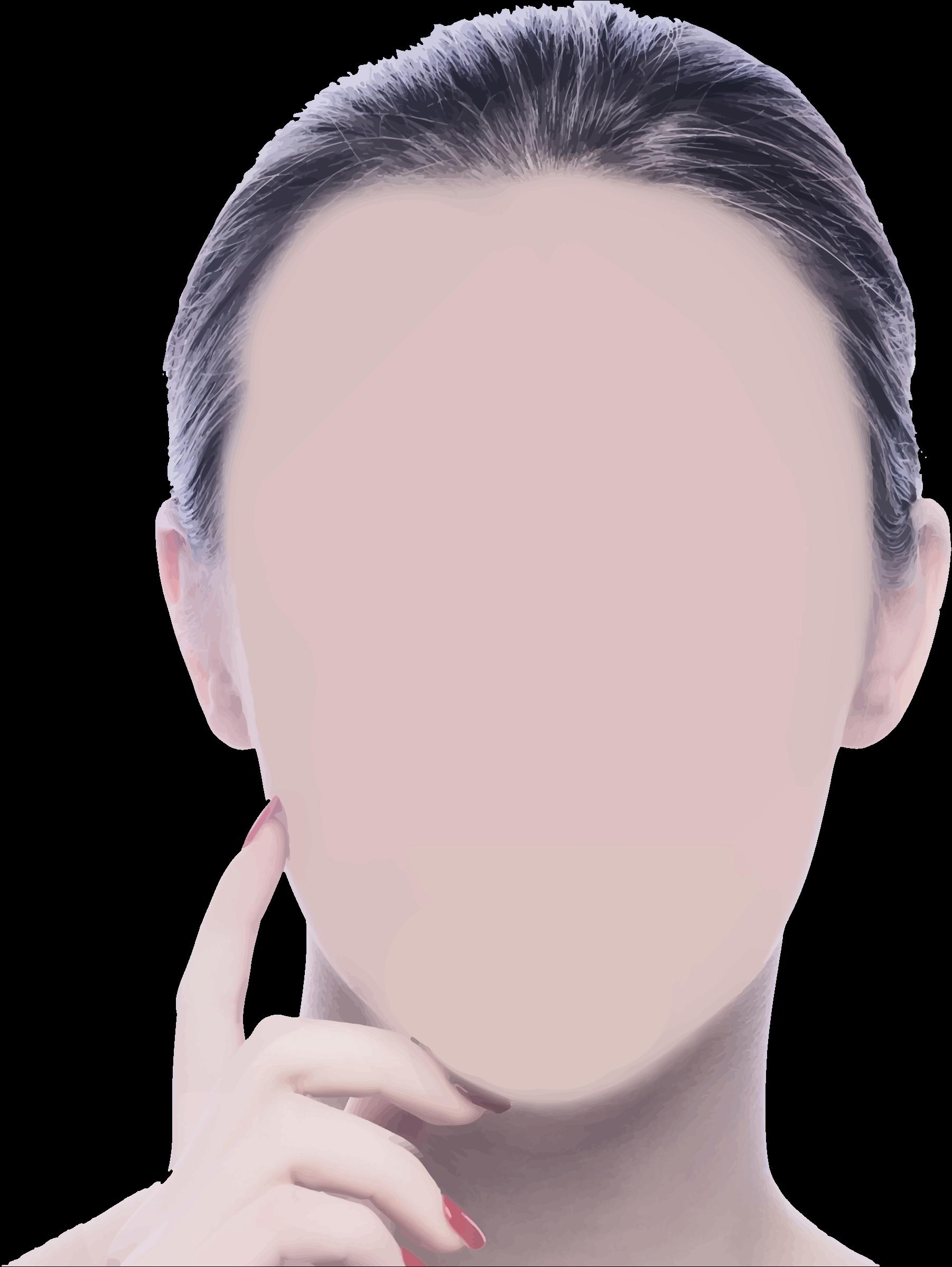Blank face by Firkin