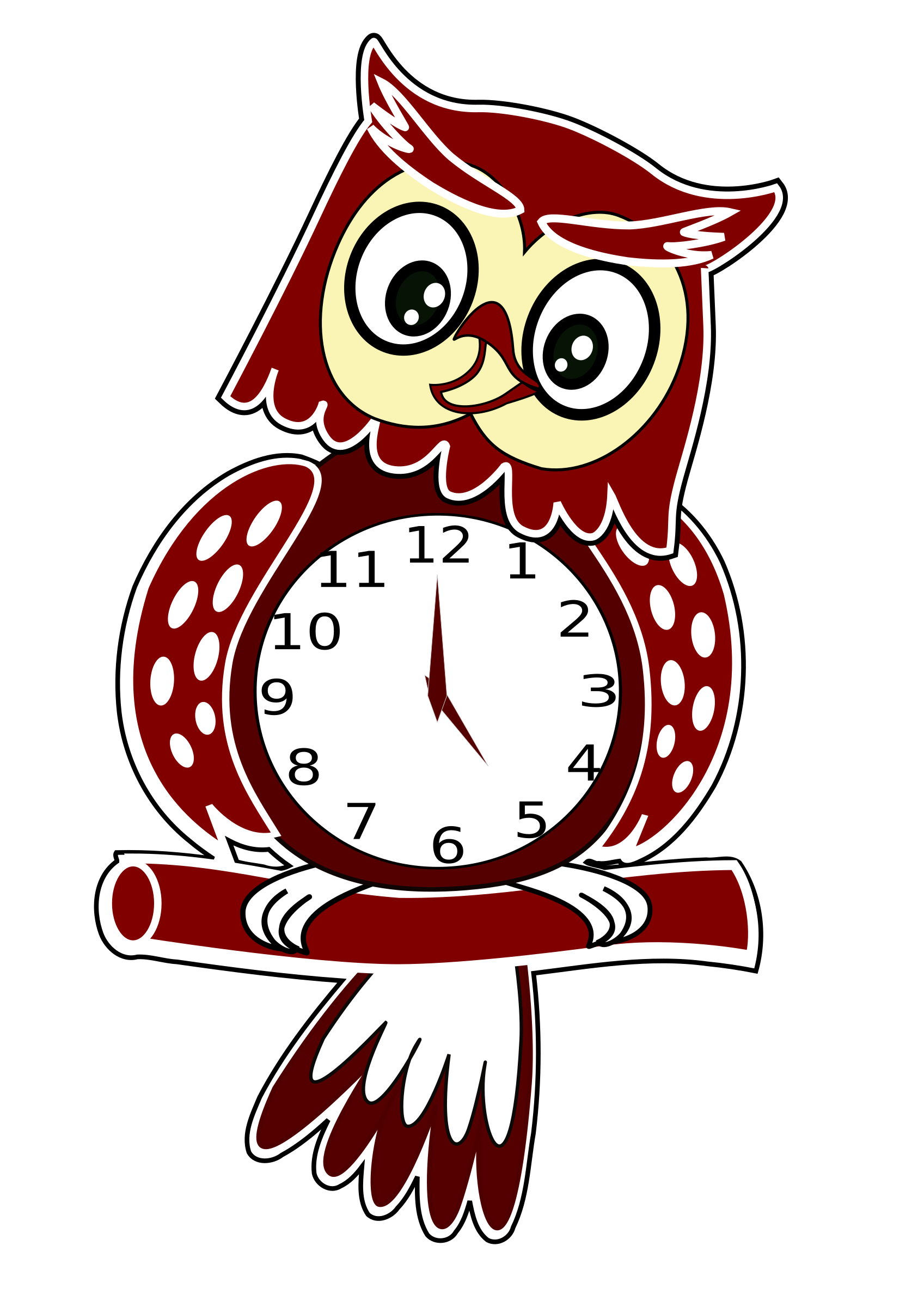 Animated Owl Clock by JayNick