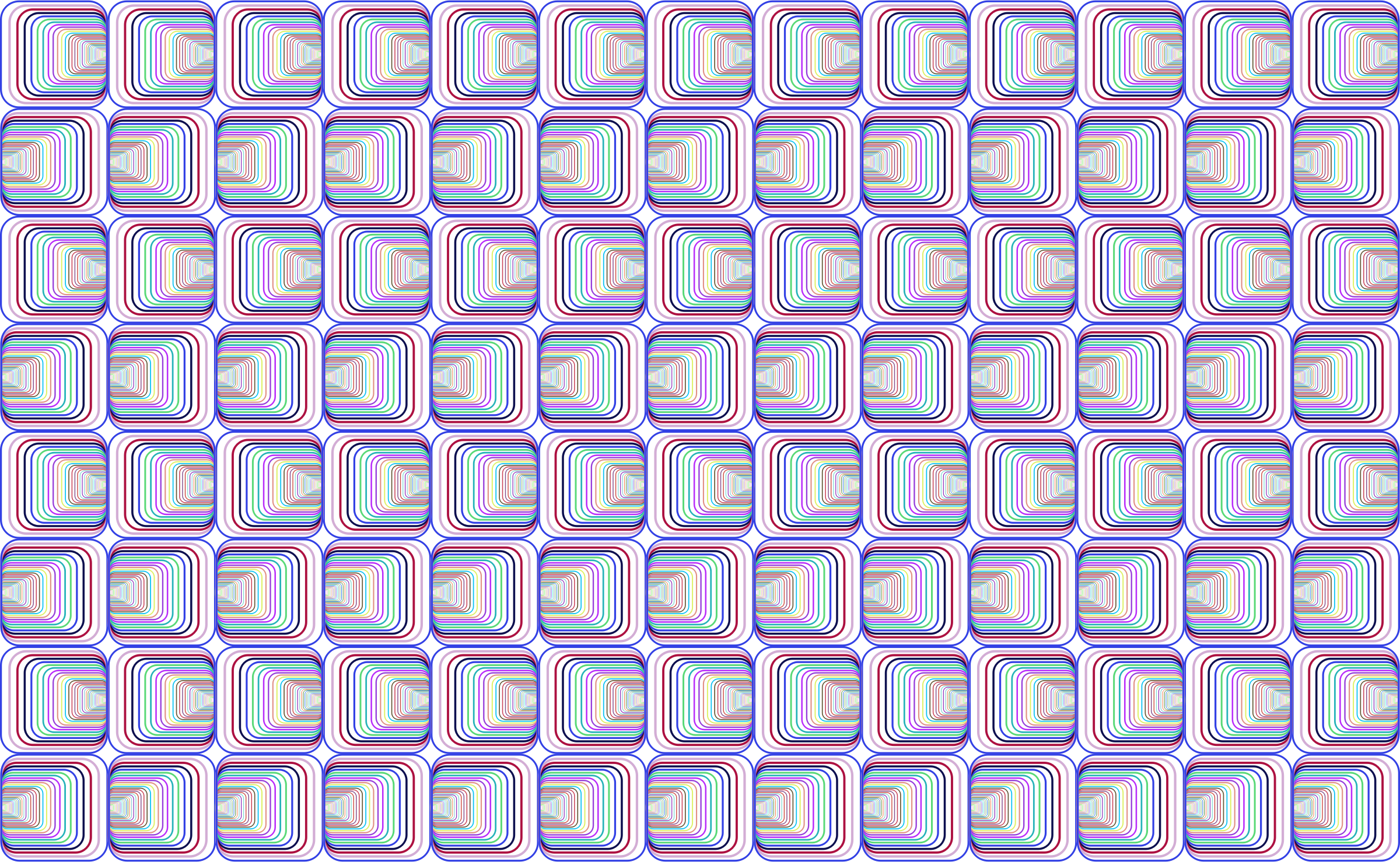 Prismatic Perspective Illusion Pattern No Background by GDJ
