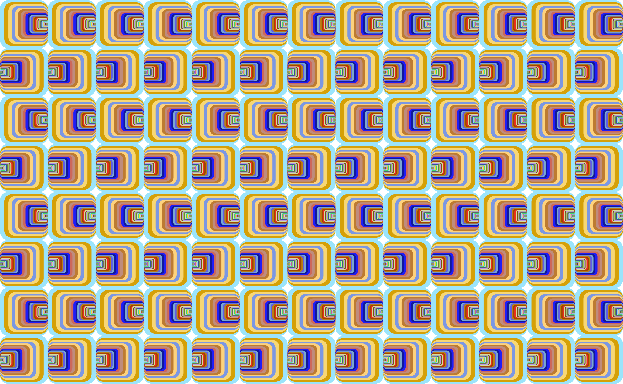 Prismatic Perspective Illusion 2 Pattern by GDJ