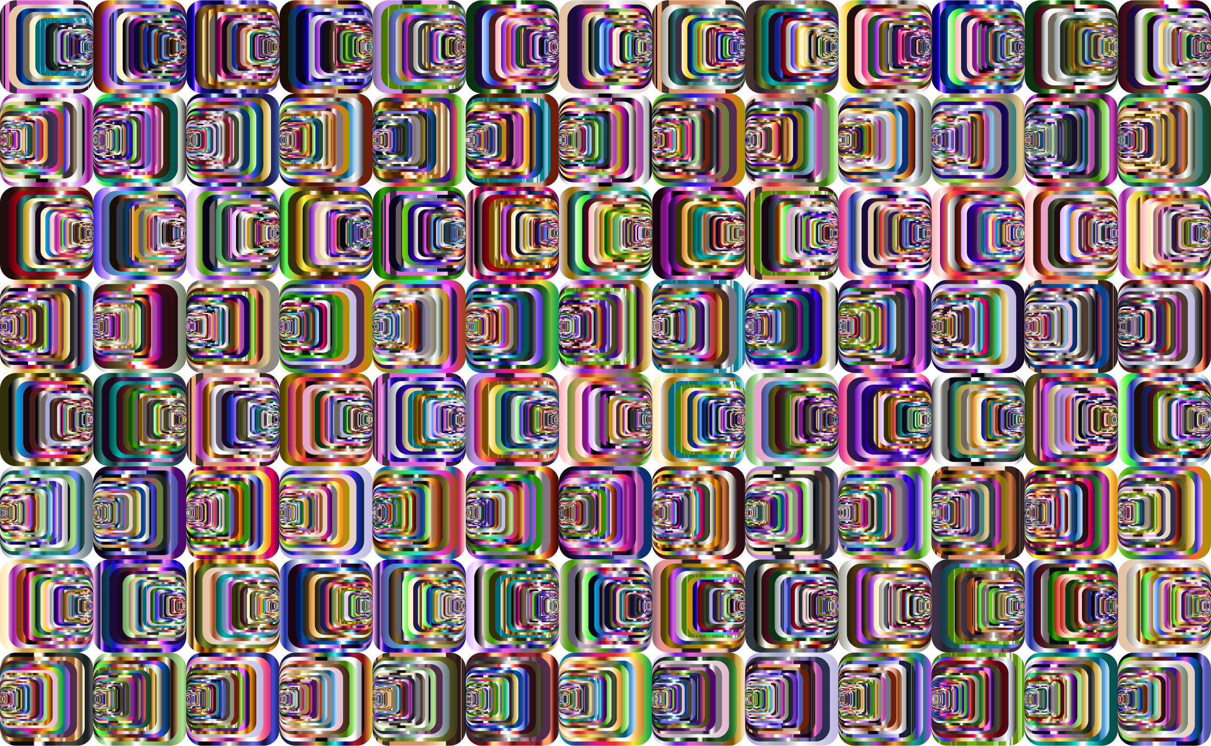 Prismatic Perspective Illusion 2 Pattern 4 by GDJ