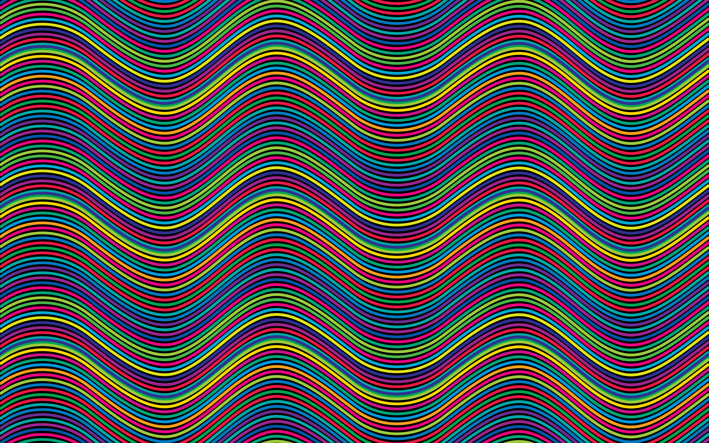 Prismatic Waves Background by GDJ