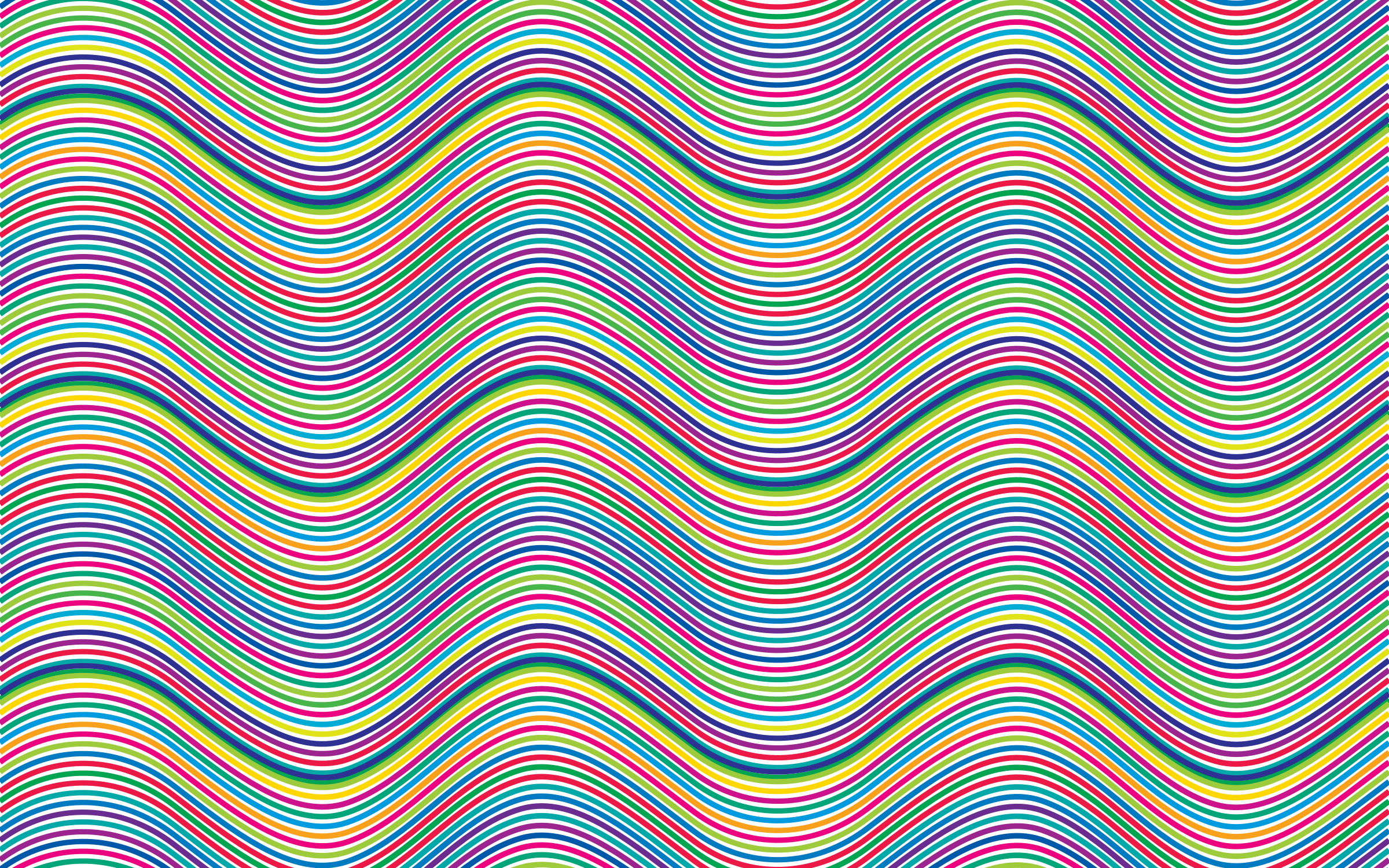 Prismatic Waves Background No Background by GDJ