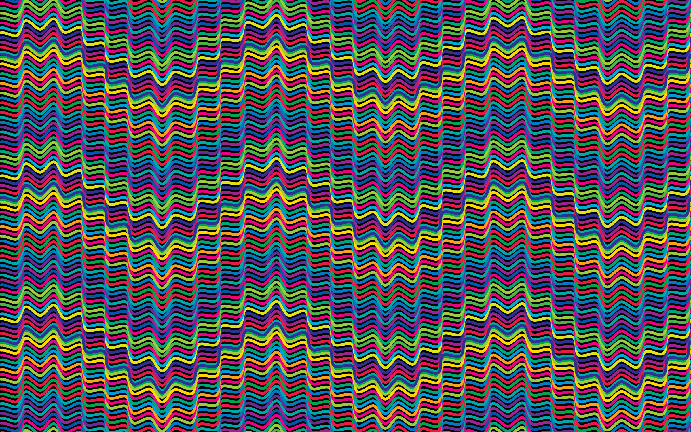 Prismatic Waves Background 2 by GDJ