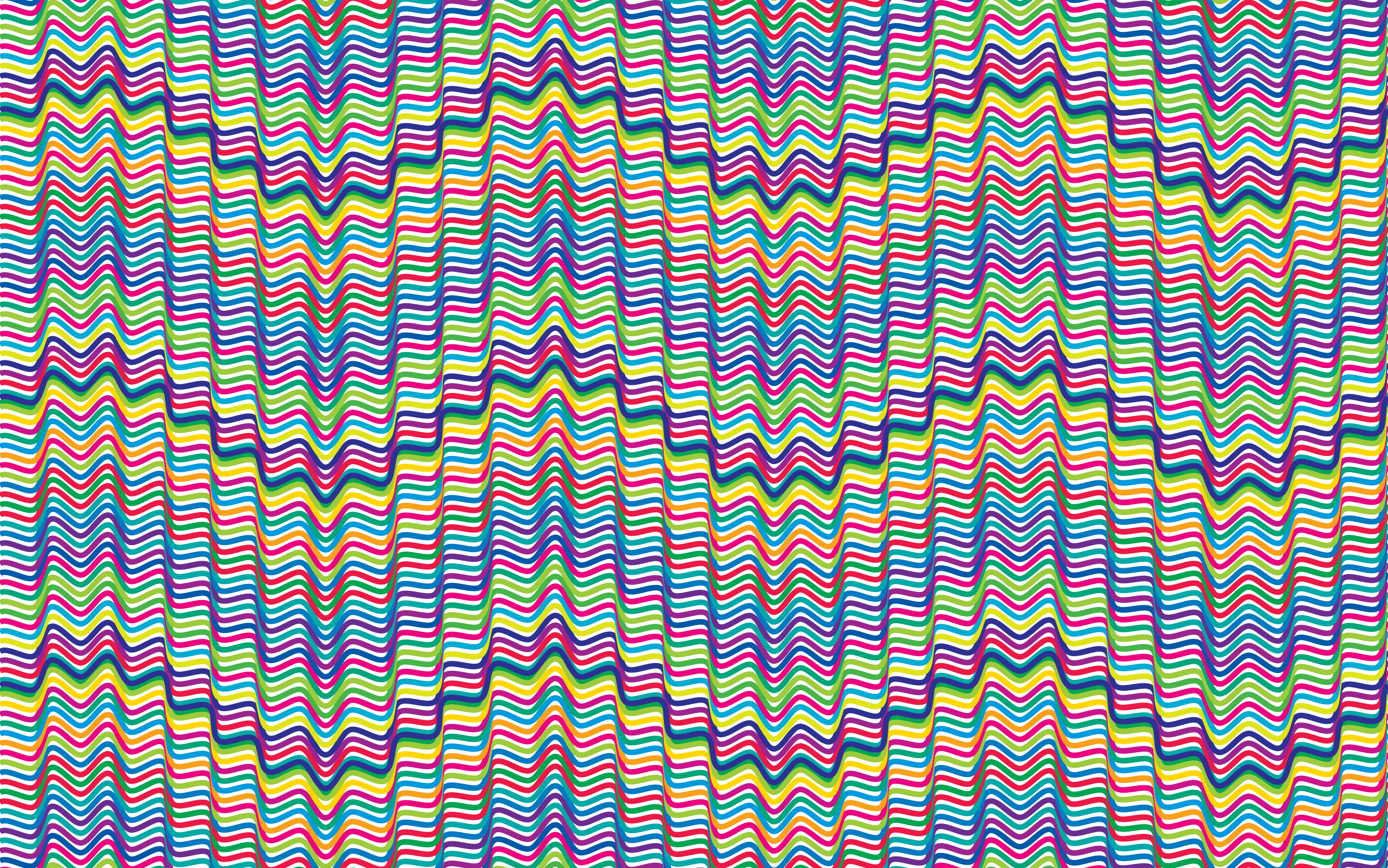 Prismatic Waves Background 2 No Background by GDJ