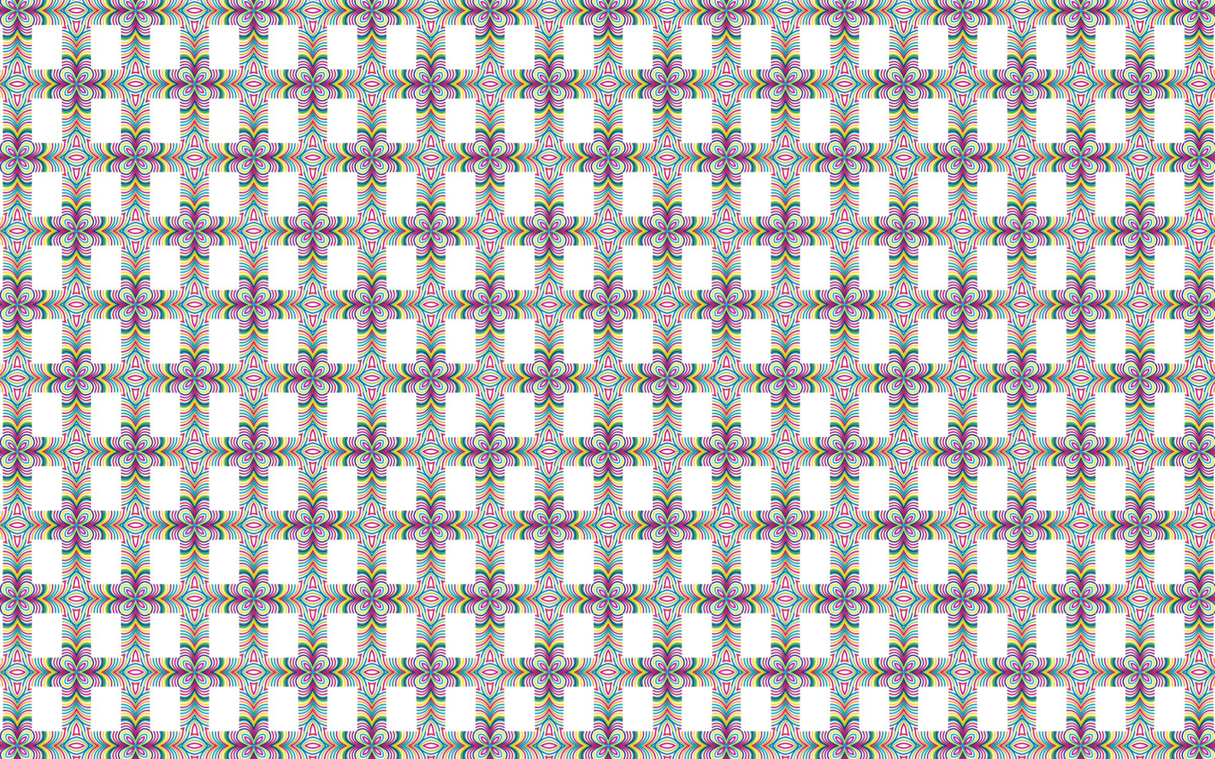 Seamless Prismatic Waves Pattern 3 by GDJ